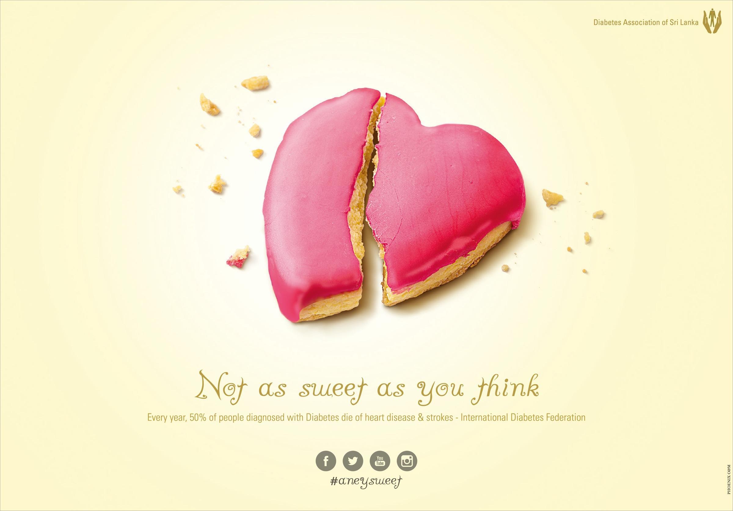 Diabetes Association of Sri Lanka Print Ad -  Not as sweet, 3