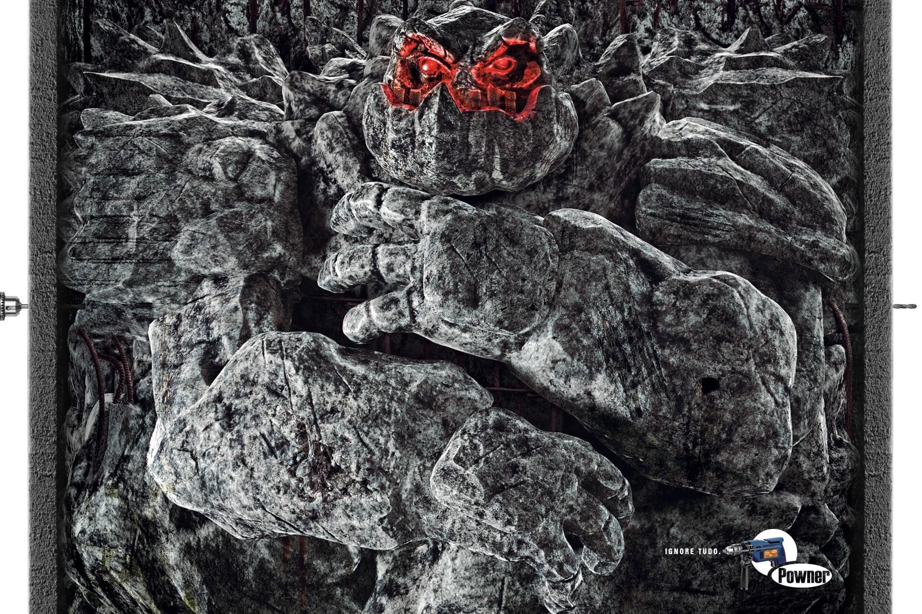 Powner Print Ad -  Monster