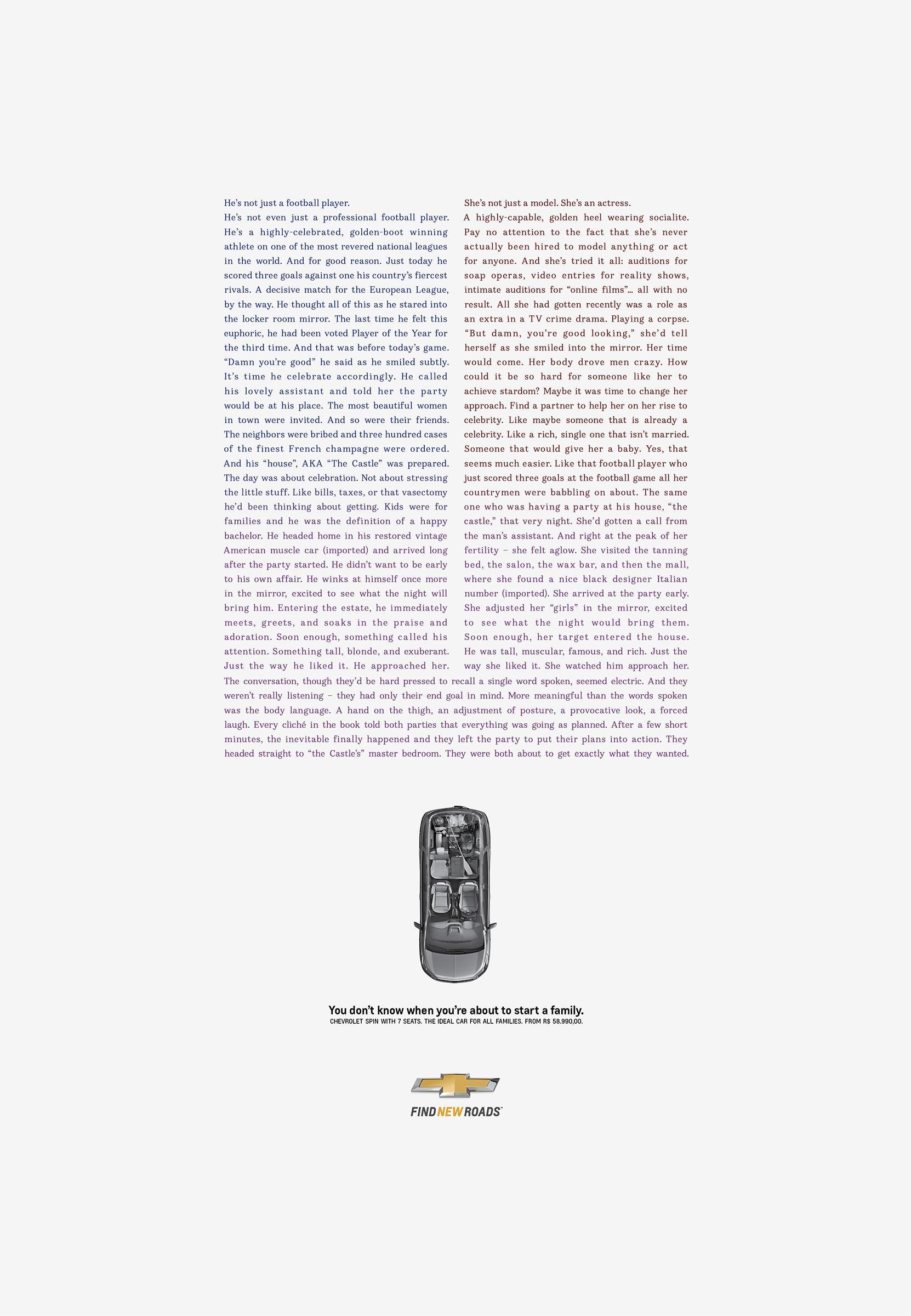 Chevrolet Print Ad -  Encounter, 2