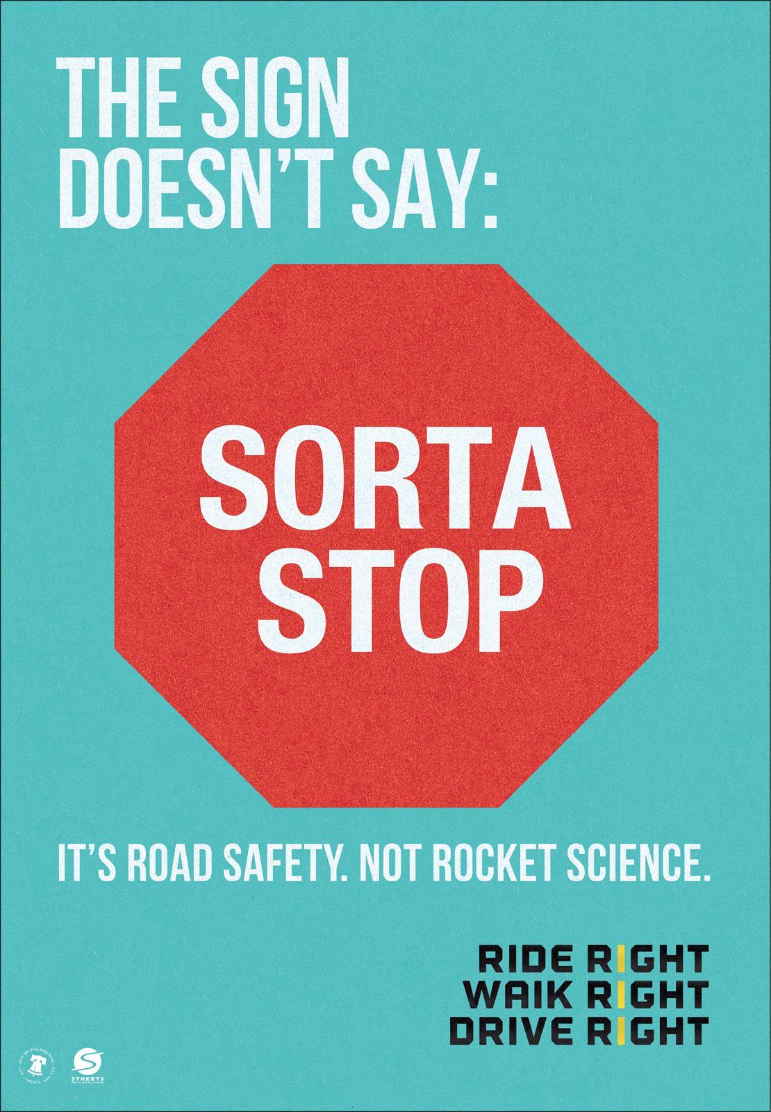 Mayor's Office of Transportation Outdoor Ad -  Sorta stop