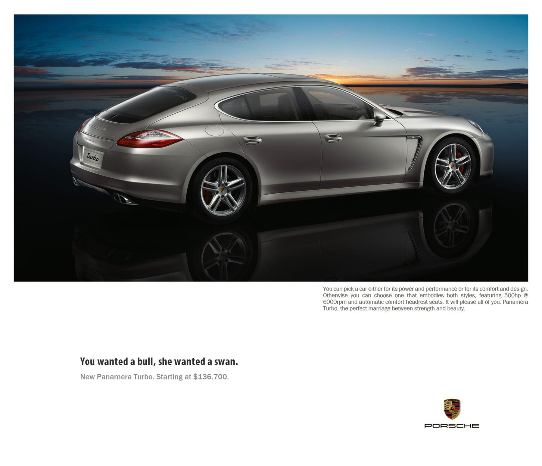 Porsche Print Ad -  Perfect, 1