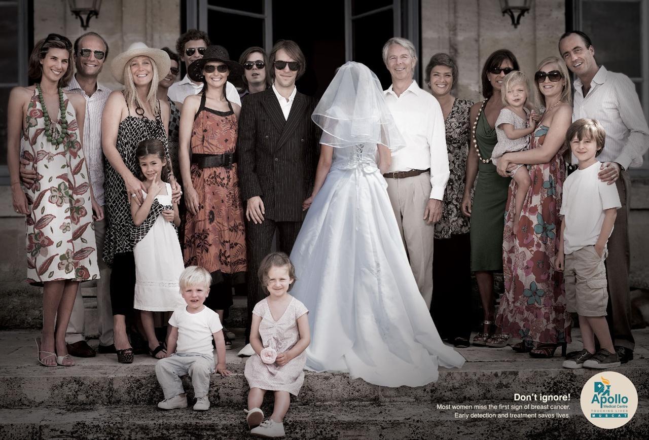 Apollo Medical Centre Print Ad -  Wedding