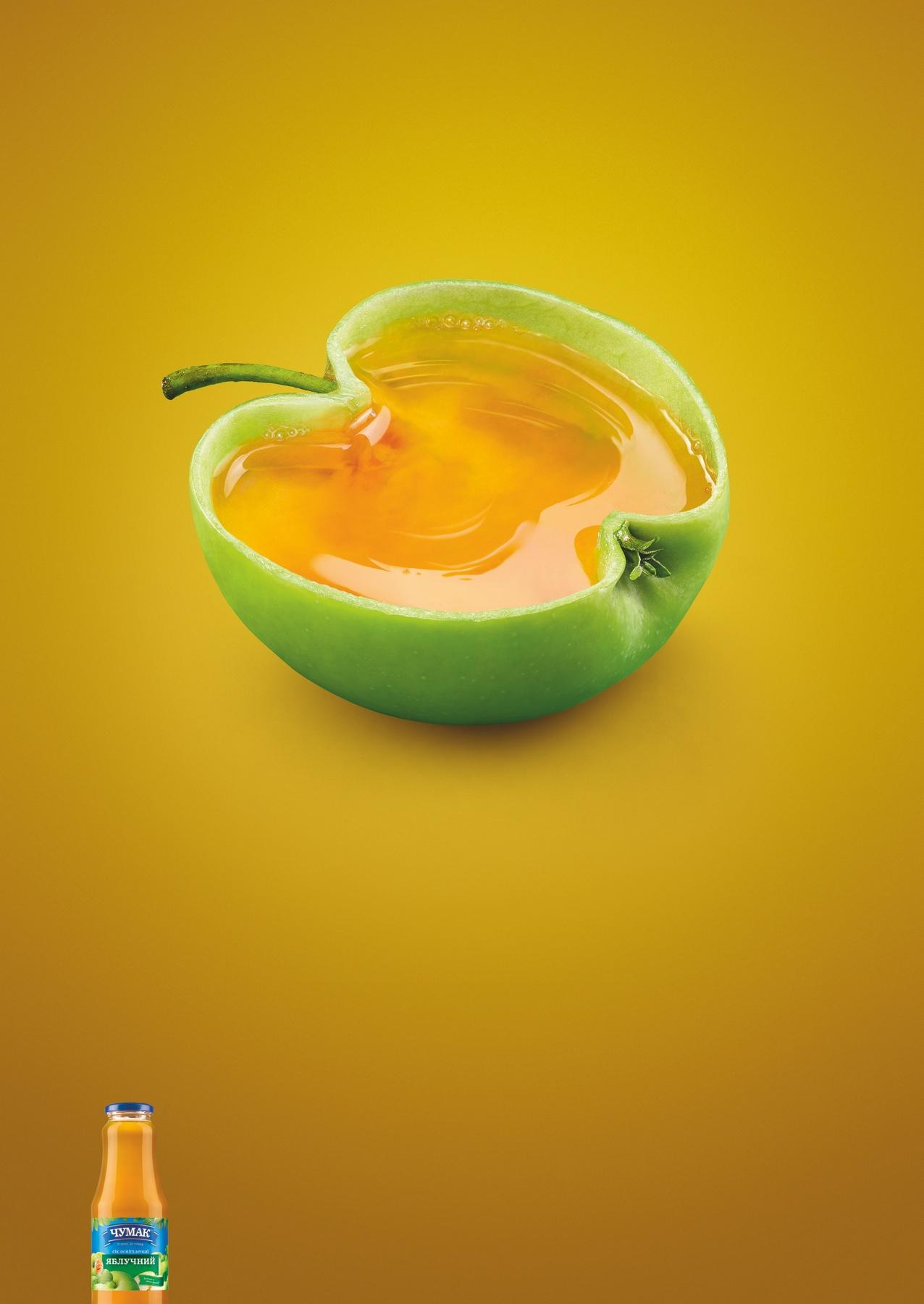 Chumak Print Ad -  Apple