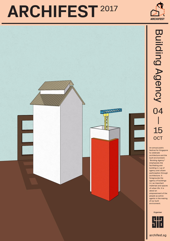 Archifest Outdoor Ad - Archifest 2017: Building Agency, 1