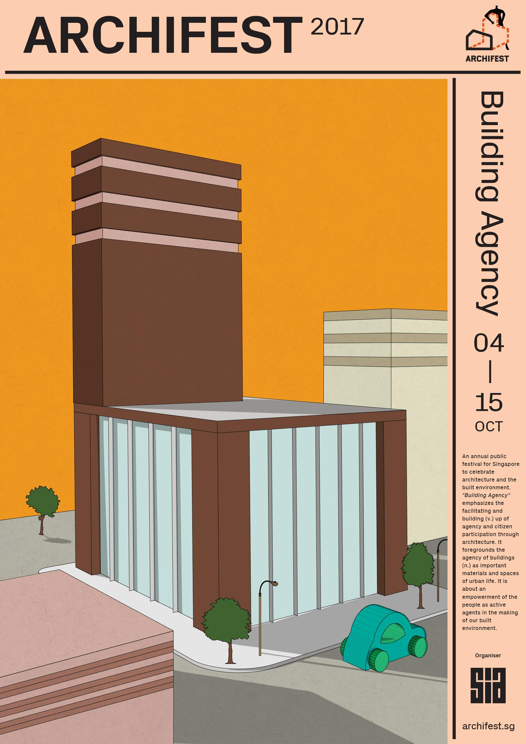 Archifest Outdoor Ad - Archifest 2017: Building Agency, 2