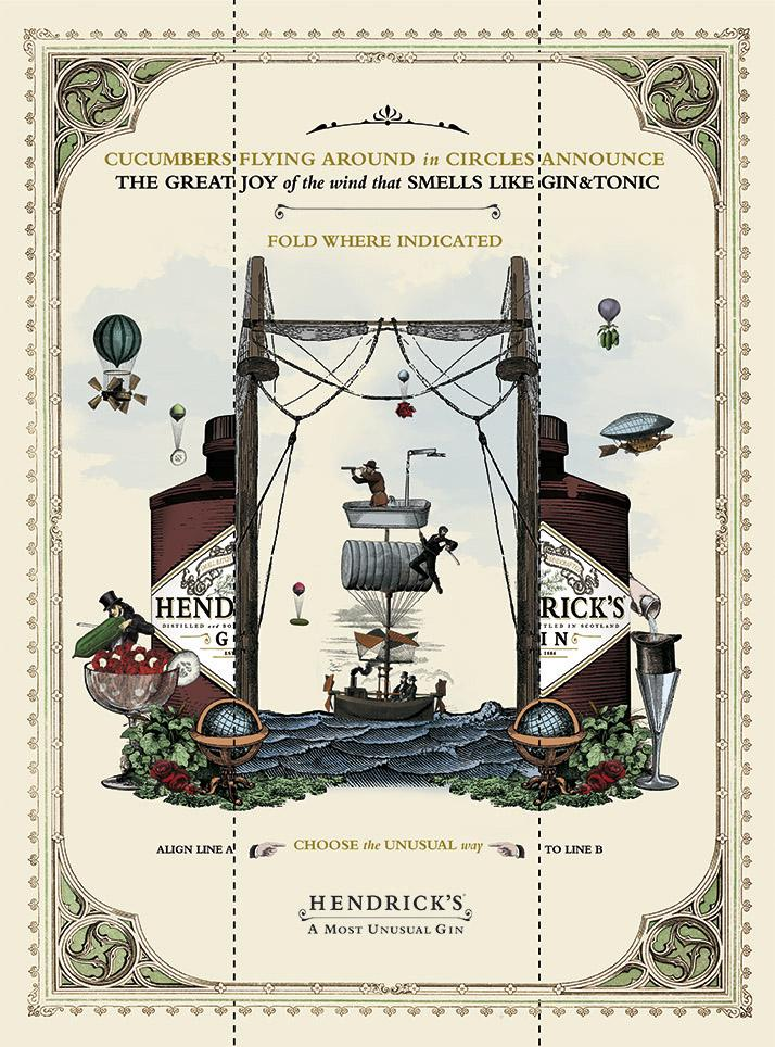 Hendrick's Gin Direct Ad -  Choose the Unusual Way, 1