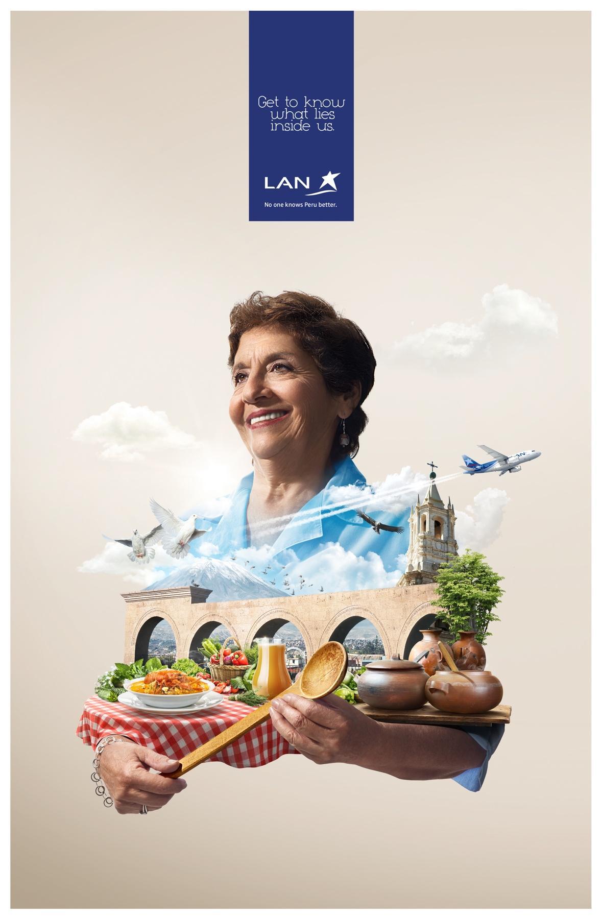 LAN Print Ad -  Arequipa