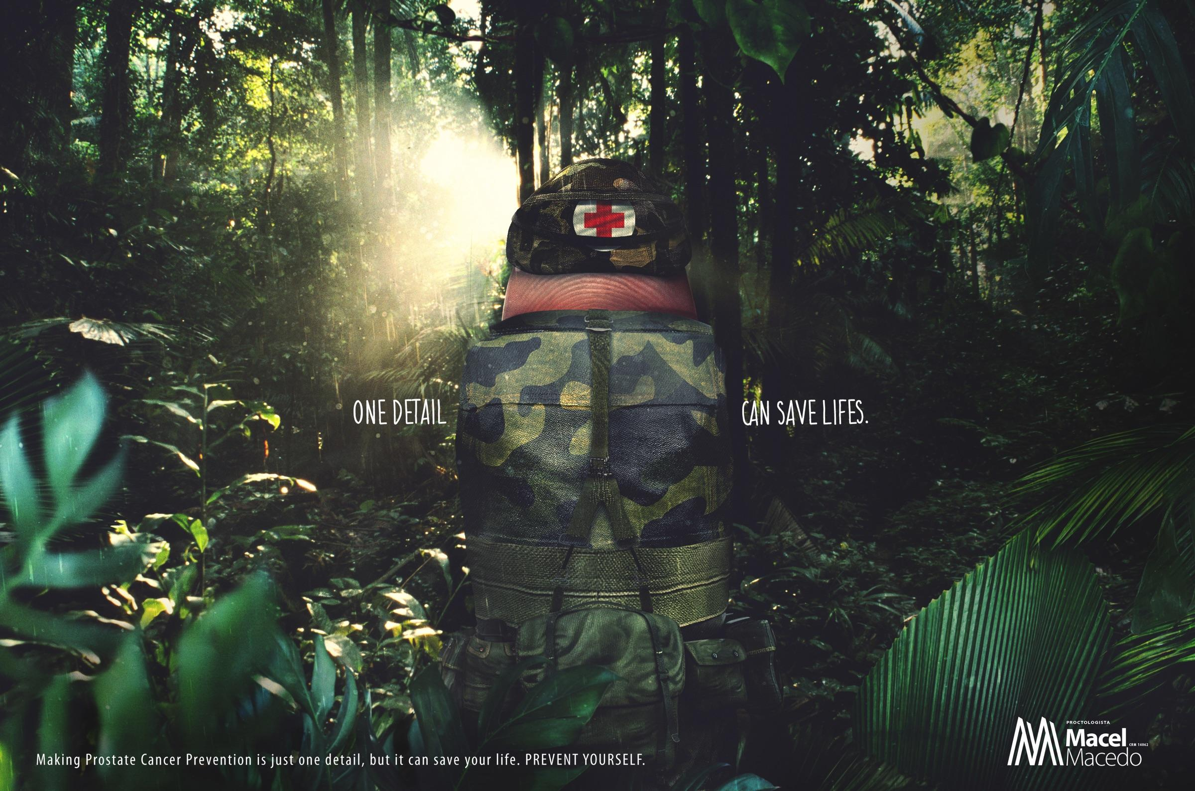 Doctor Macel Macedo Print Ad - Army Doctor