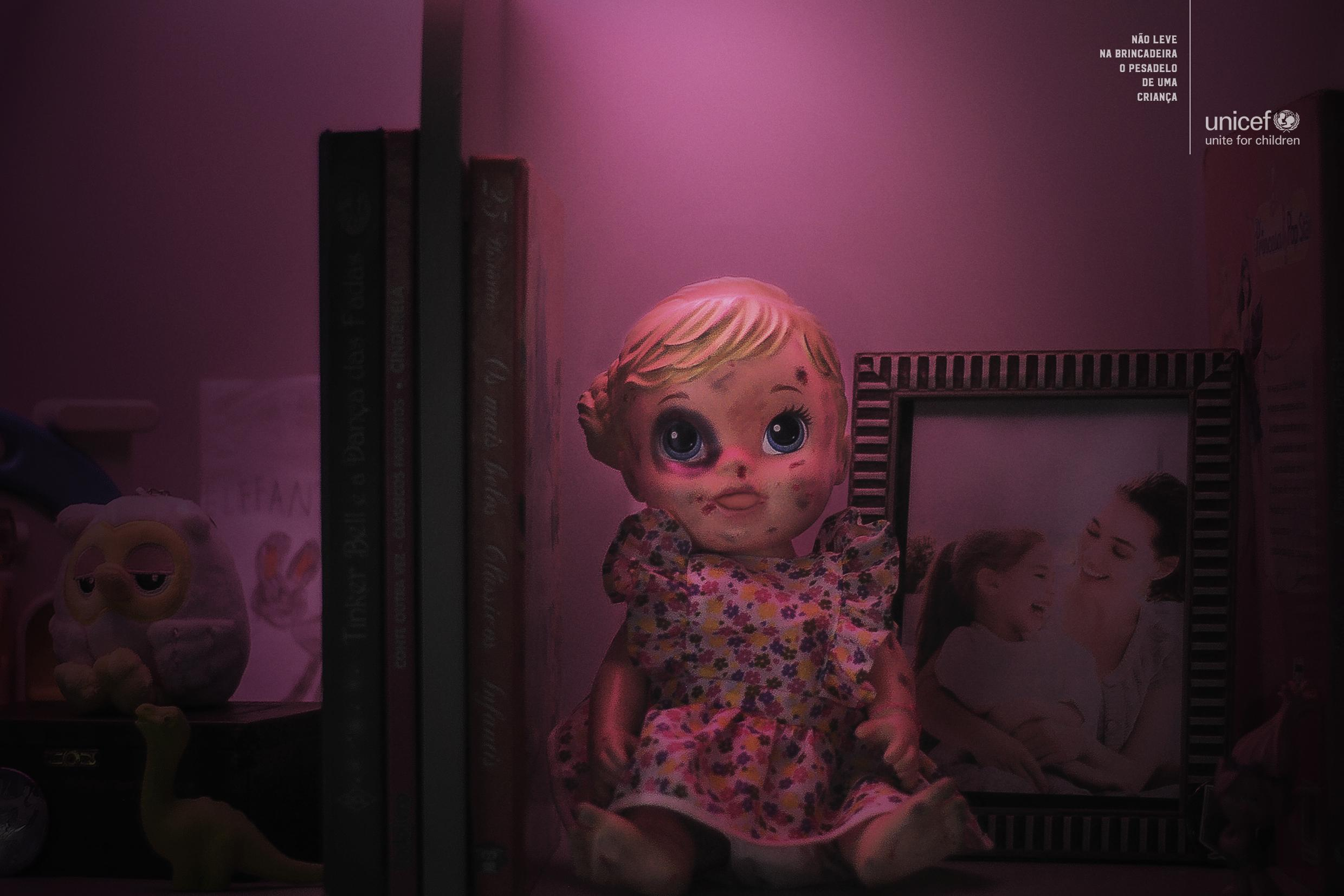 Unicef Print Ad - Do not Play a Child's Nightmare