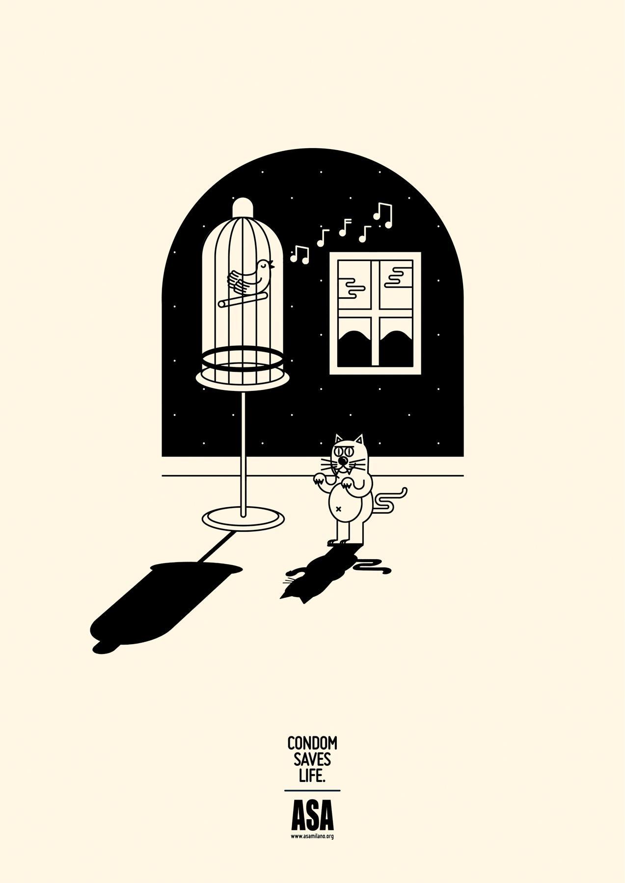 ASA Print Ad -  Cat