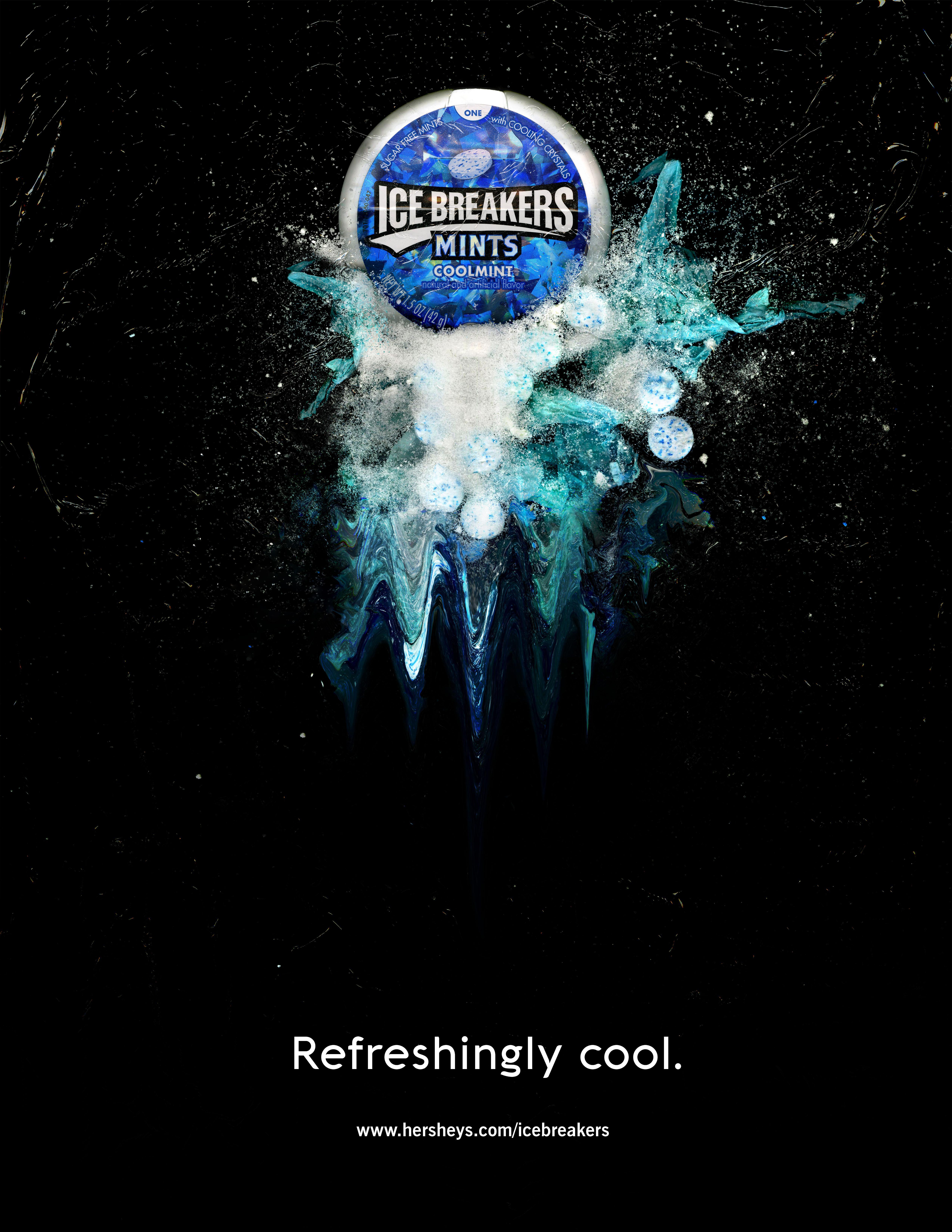 Icebreakers Print Ad - Refreshingly Cool