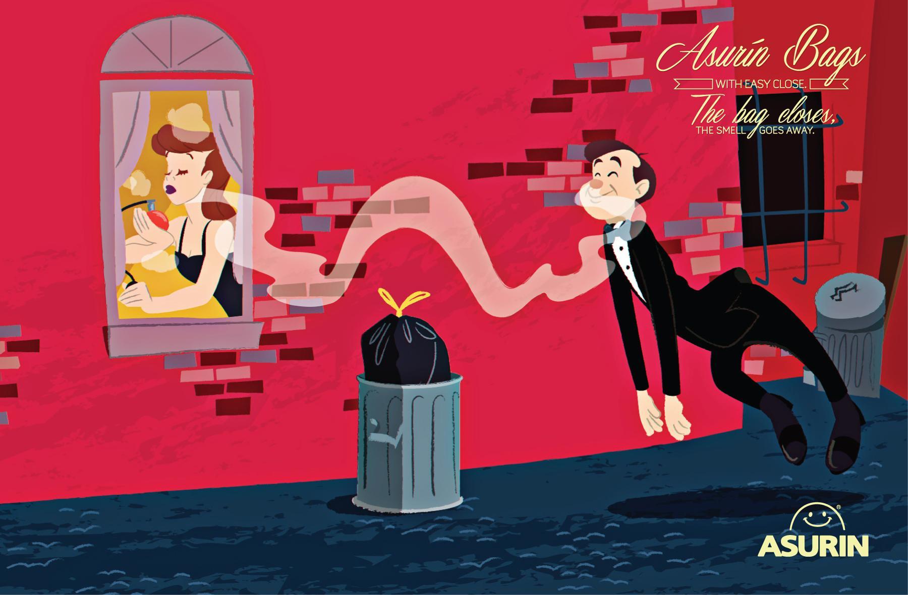 Asurin Print Ad -  Perfume