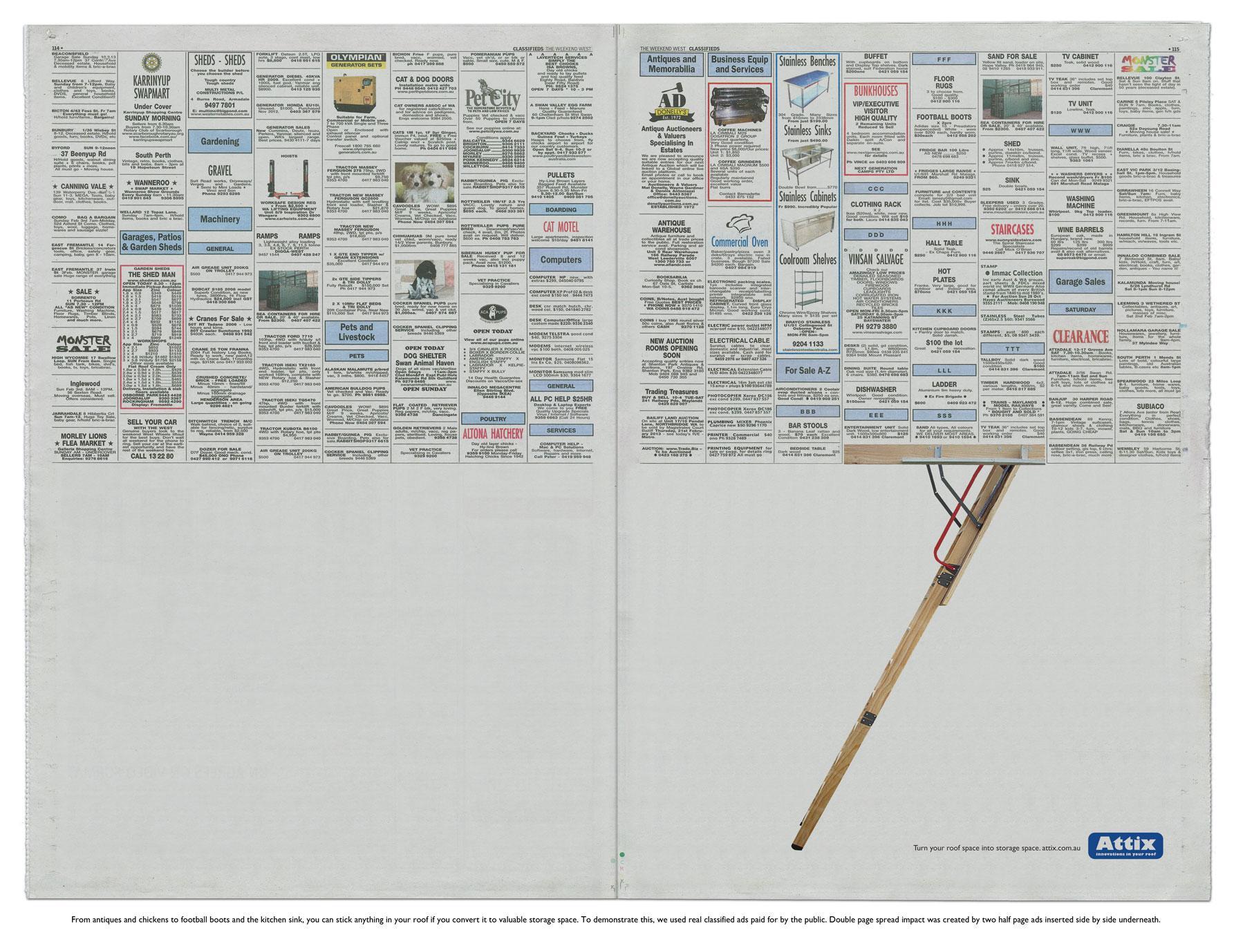 ATTIX Print Ad -  Roof Space