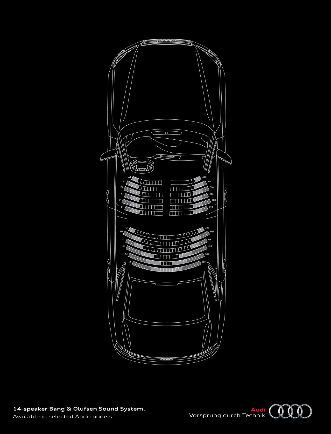 Audi Print Ad -  Orchestra