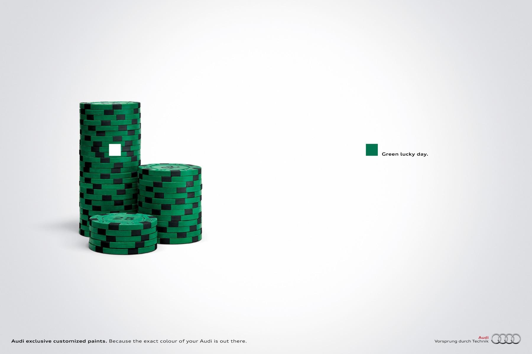 Audi Print Ad -  Poker