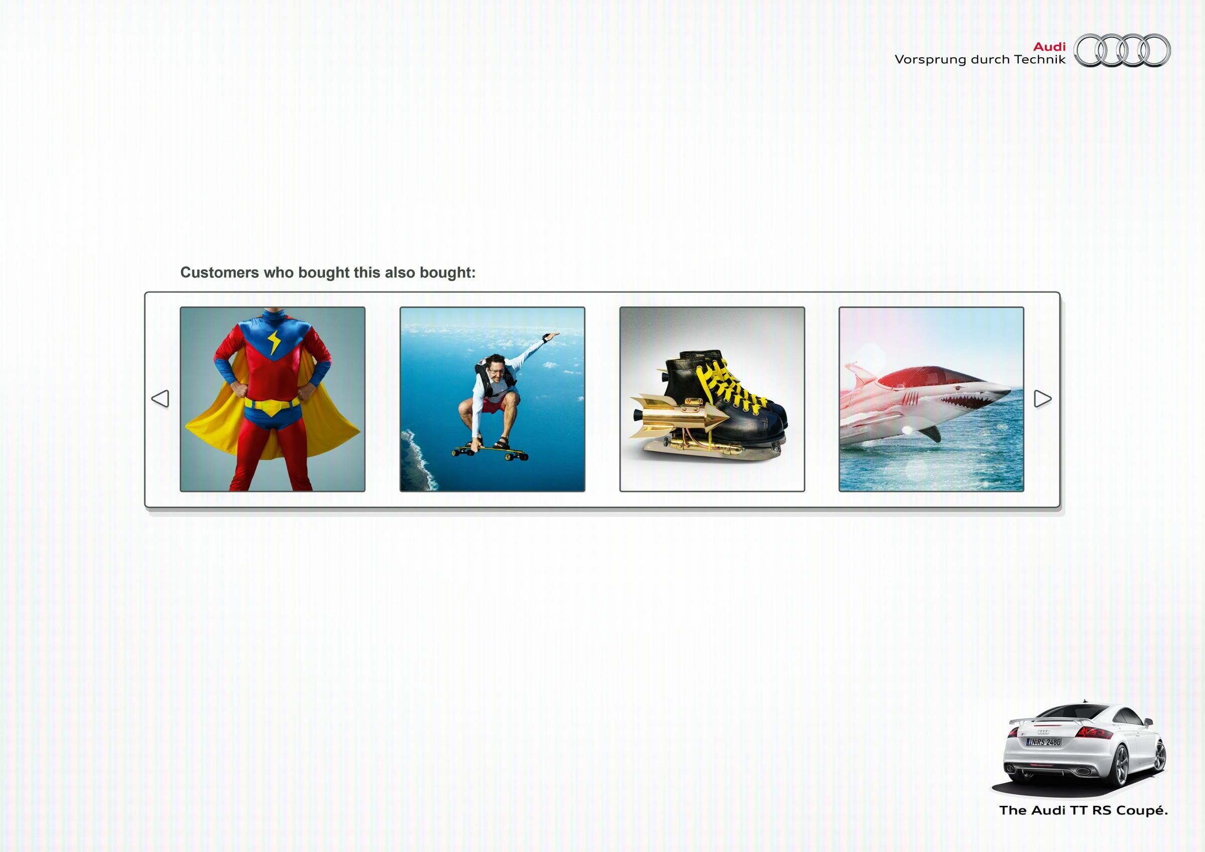 Audi Print Ad -  Recommendation, 3
