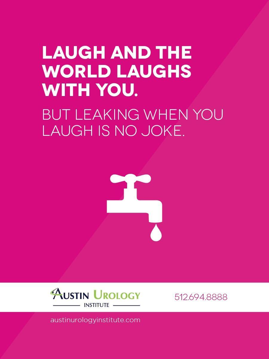 Austin Urology Institute Outdoor Ad -  Bathroom Blitz, 2