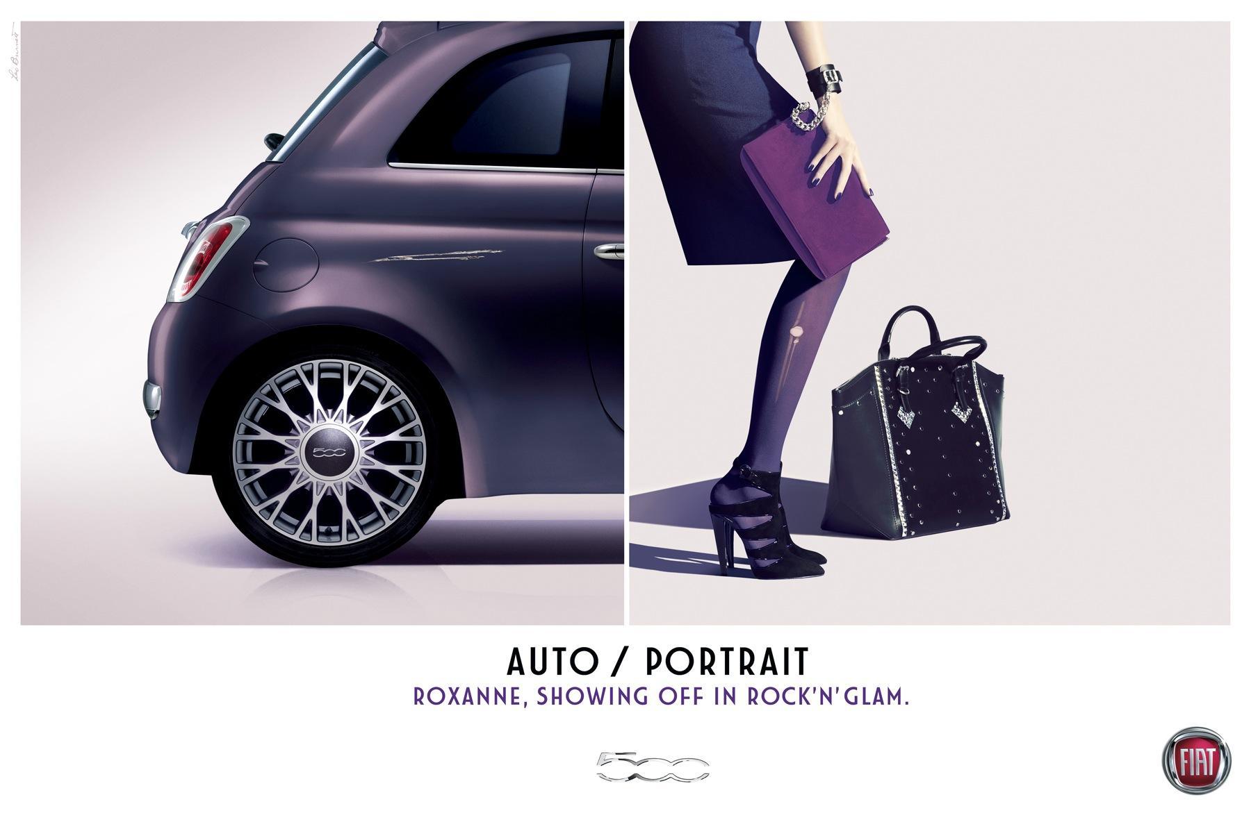 Fiat Print Ad -  Roxanne