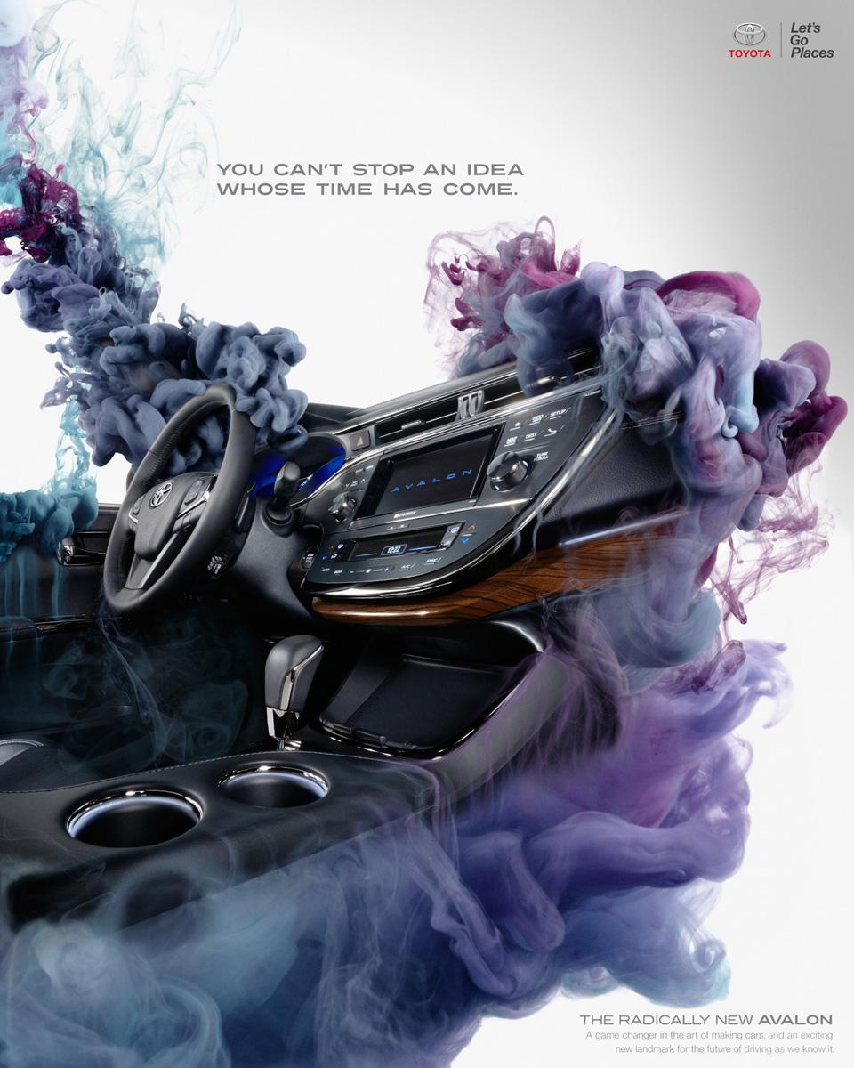 Toyota Print Ad -  Idea, 2