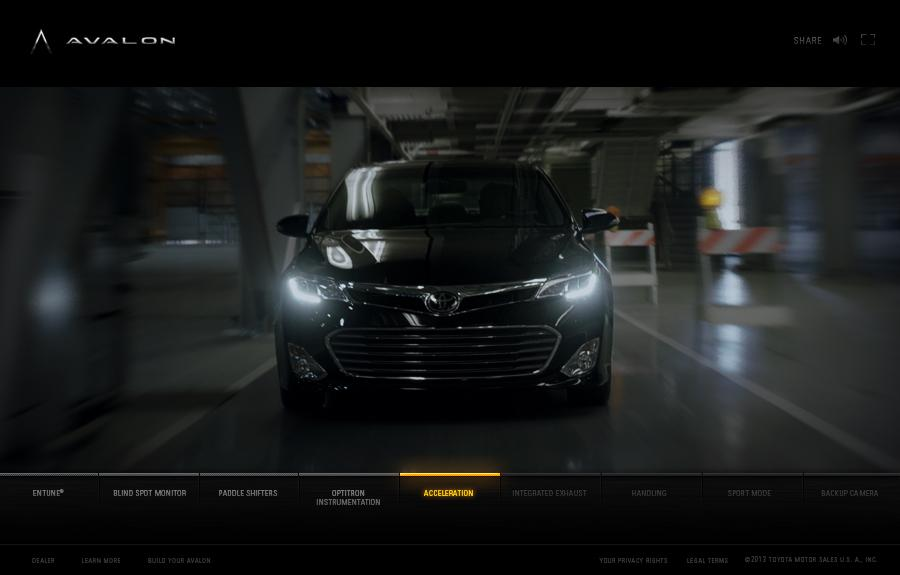 Toyota Digital Ad -  Only The Name Remains