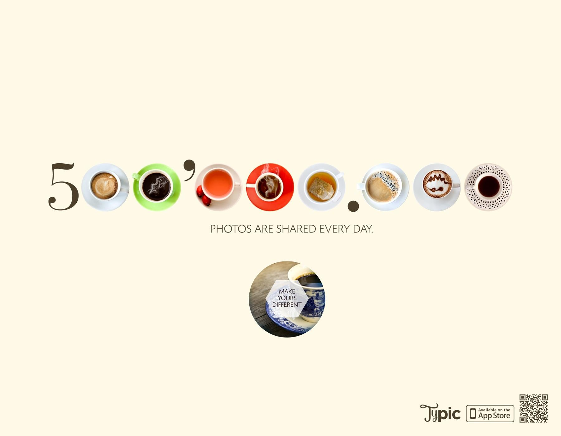 Typic Print Ad -  Coffee