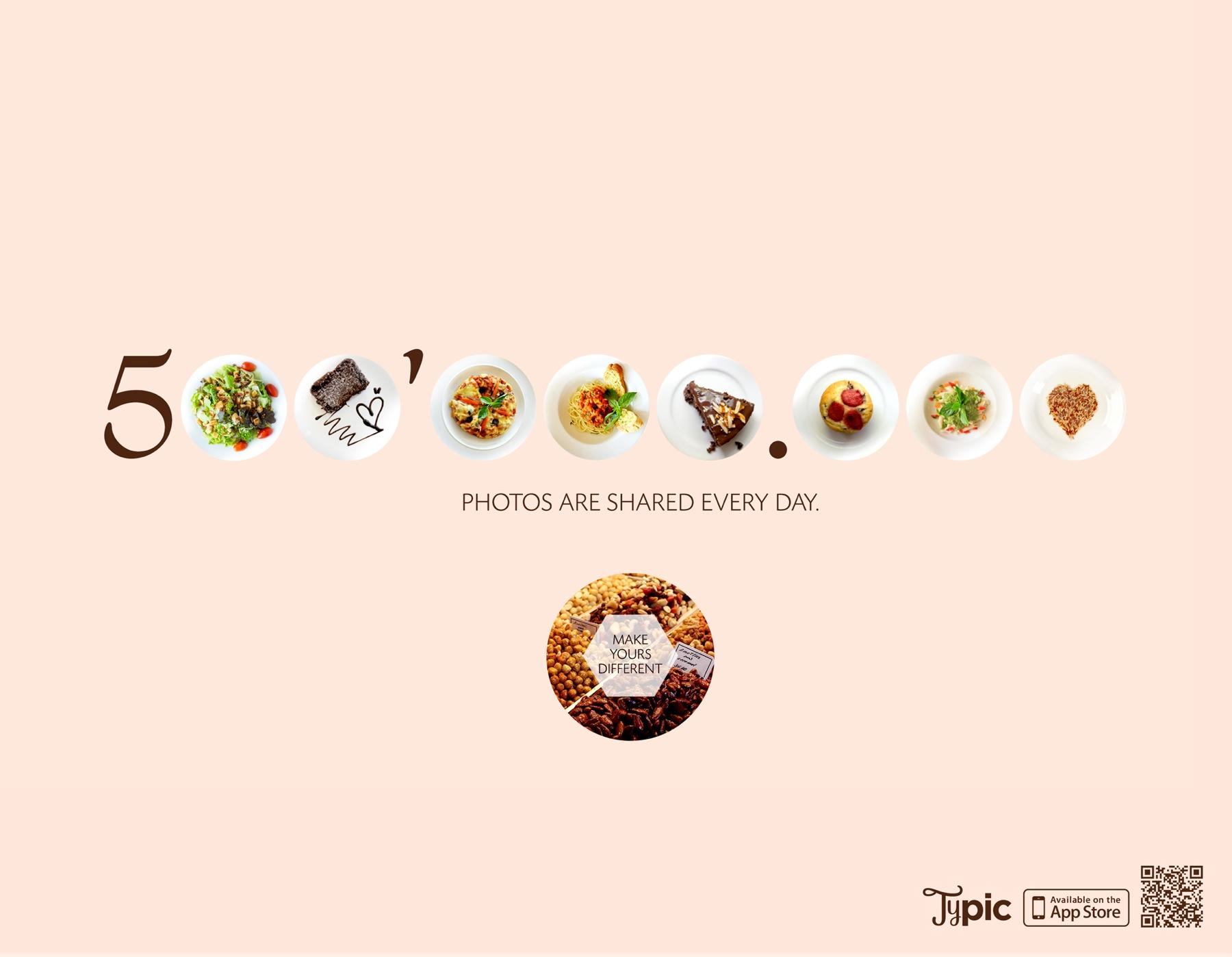 Typic Print Ad -  Food