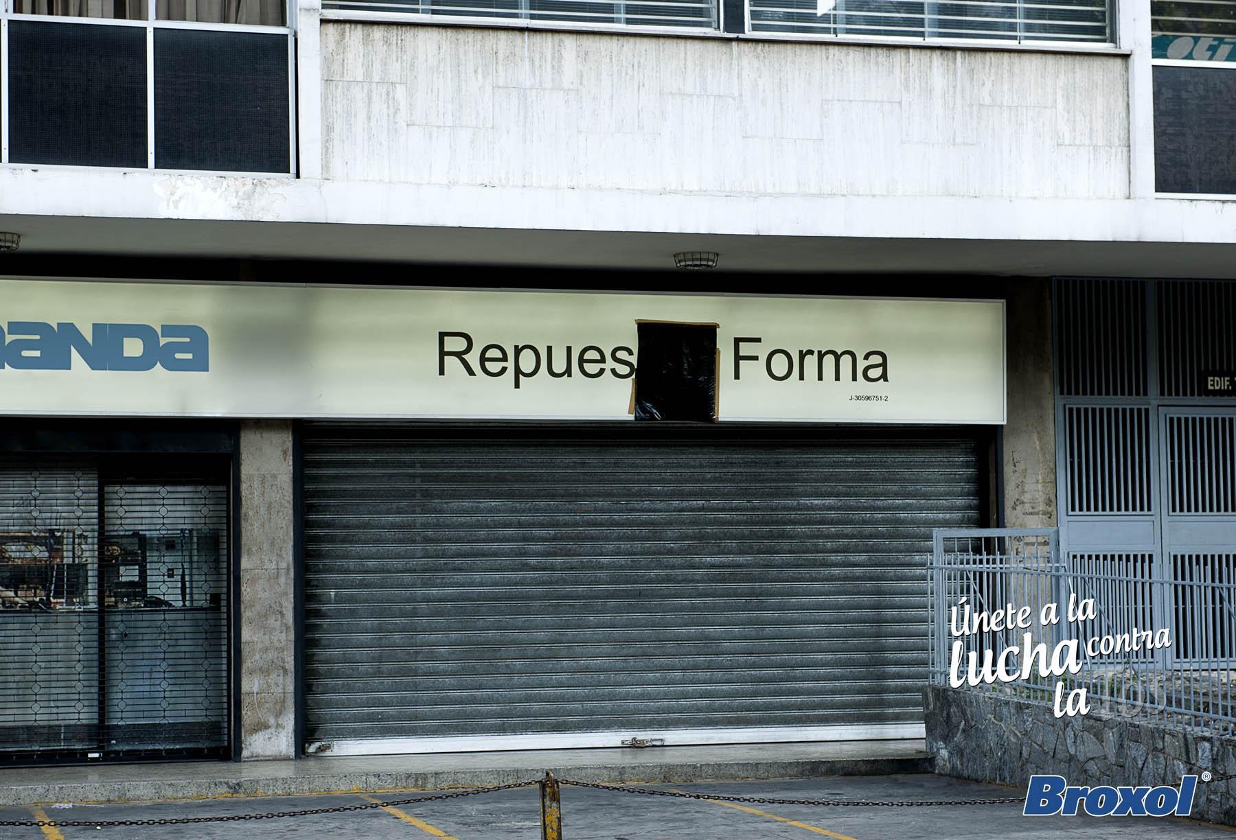 Laboratorio La Santé Print Ad -  Broxol, Sign