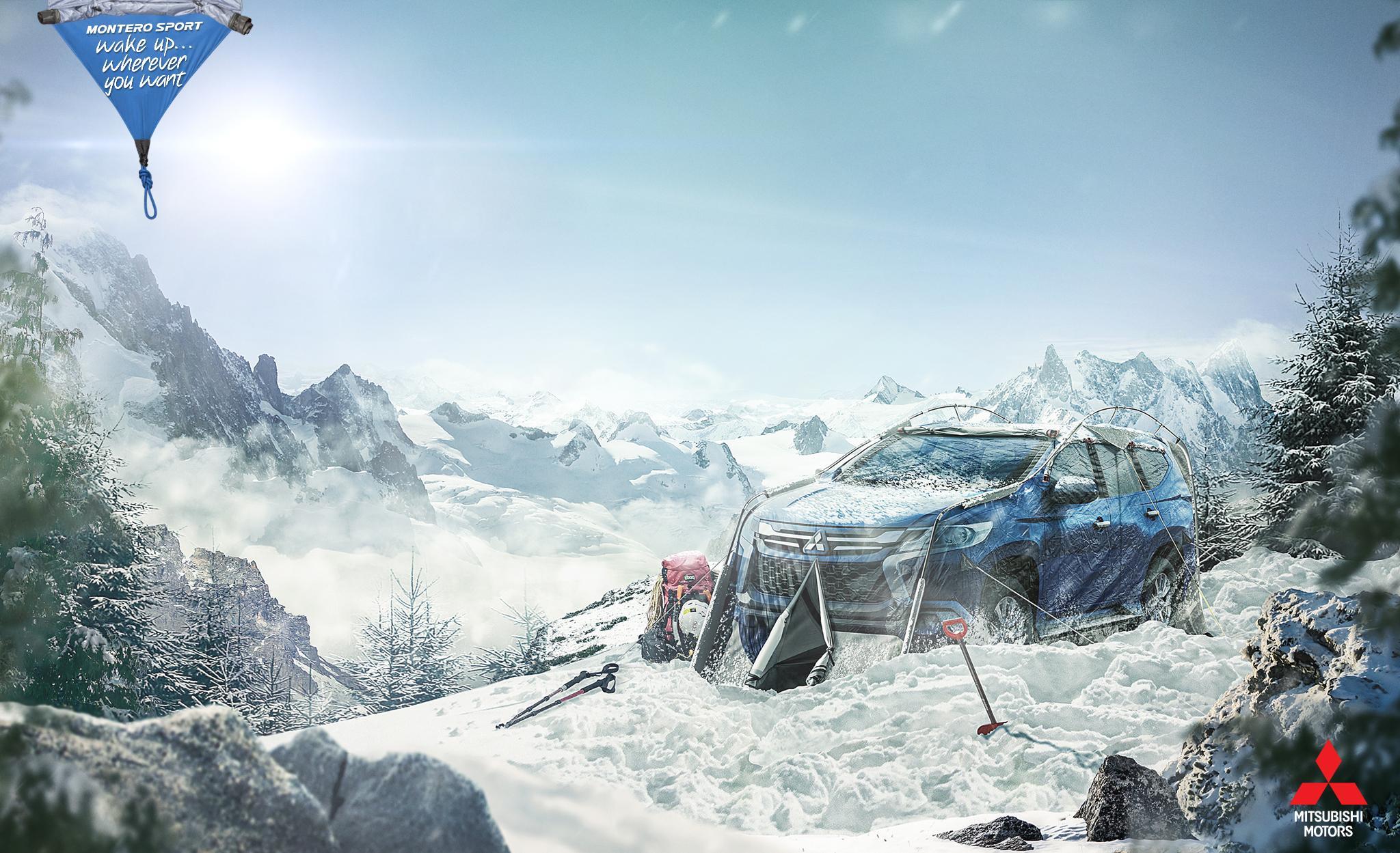 Mitsubishi: Snow