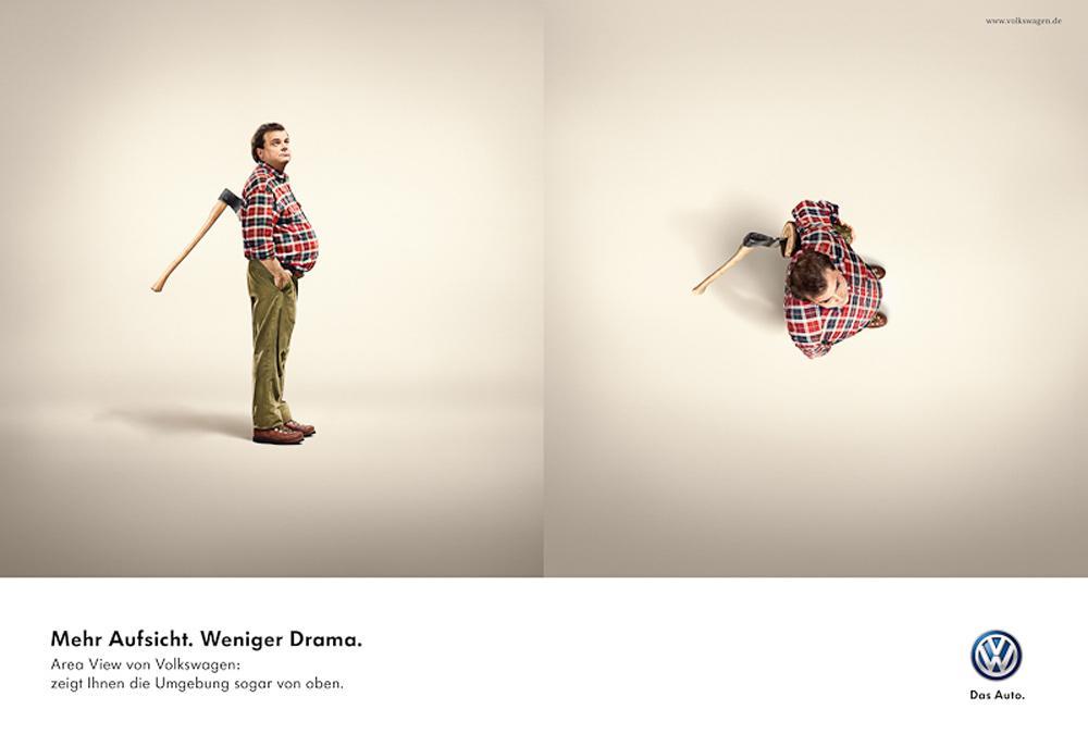 Volkswagen Print Ad -  Axe