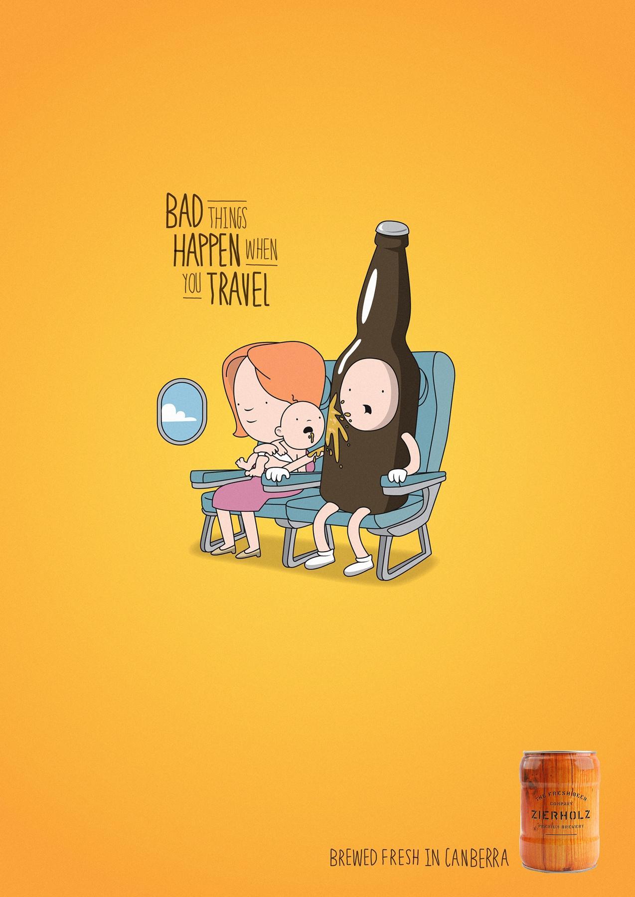 Zierholz Print Ad -  Baby