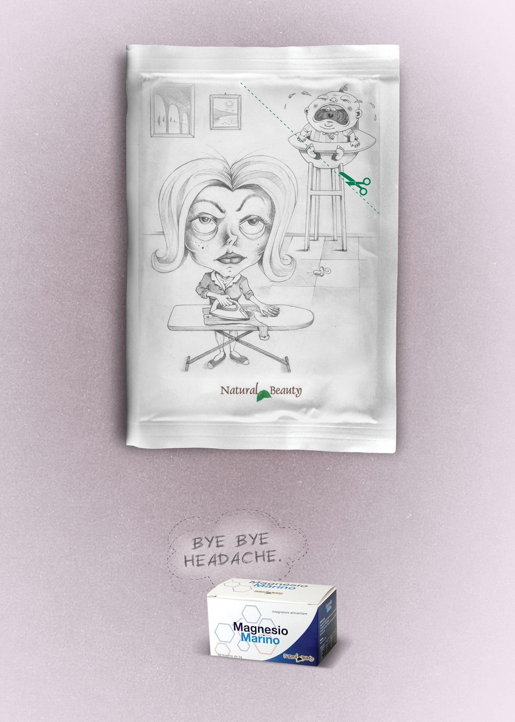 Natural Beauty Print Ad -  Baby