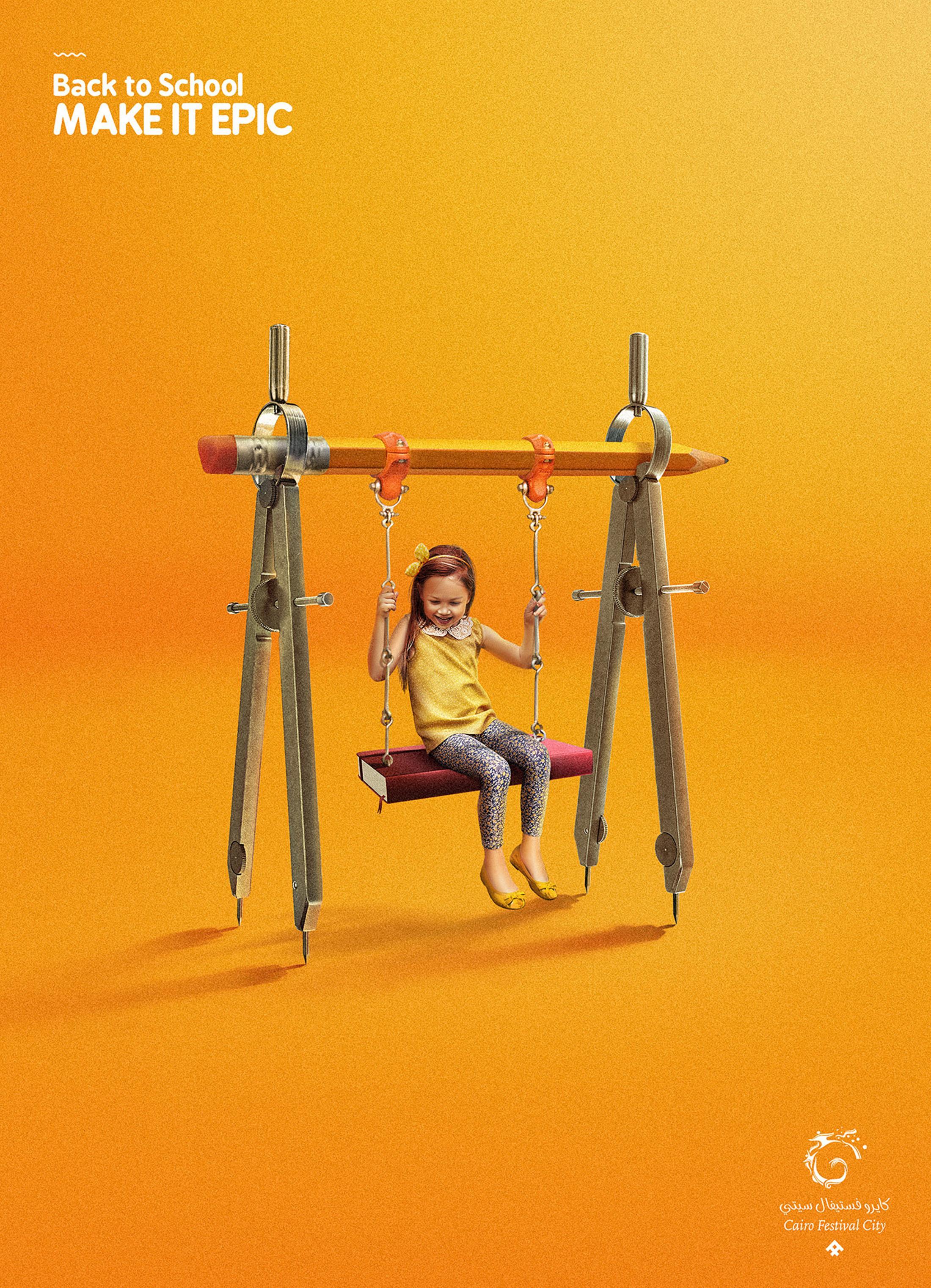 Cairo Festival City Mall Print Ad - Back To School, 1
