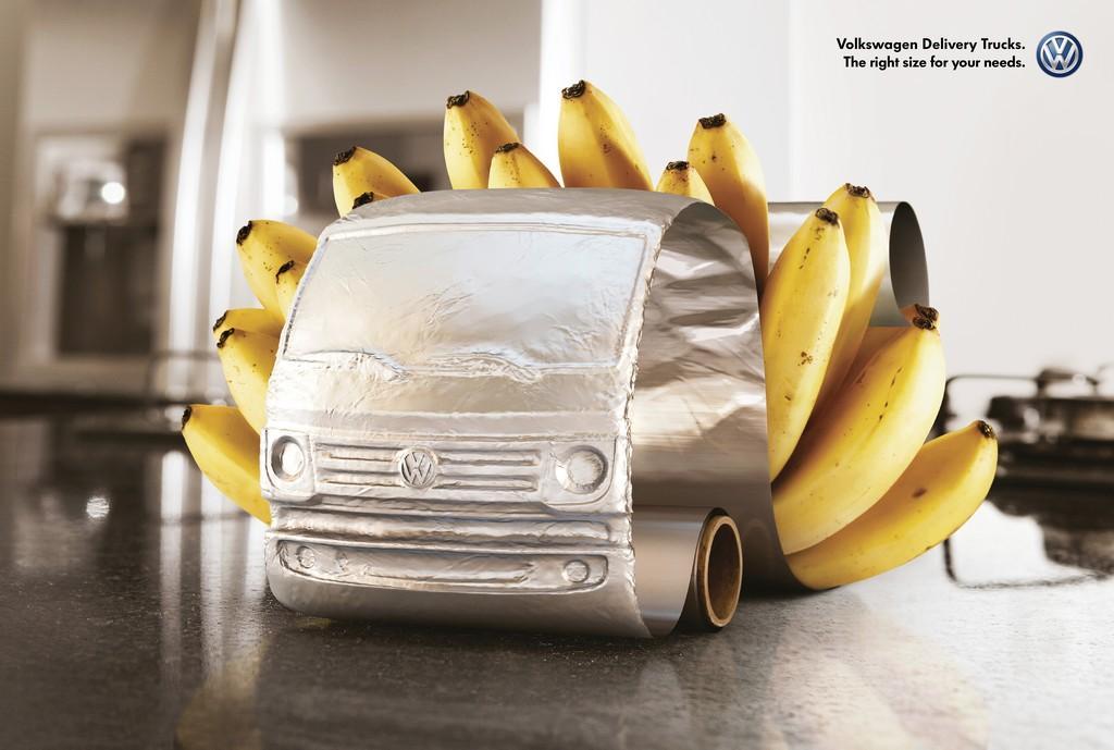 Volkswagen Print Ad -  Bananas