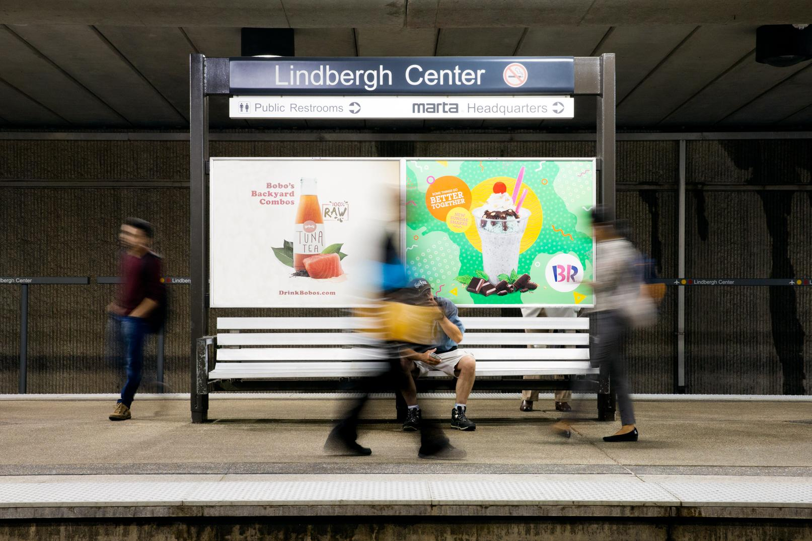 Baskin Robbins Outdoor Ad - Somethings Go Better Together