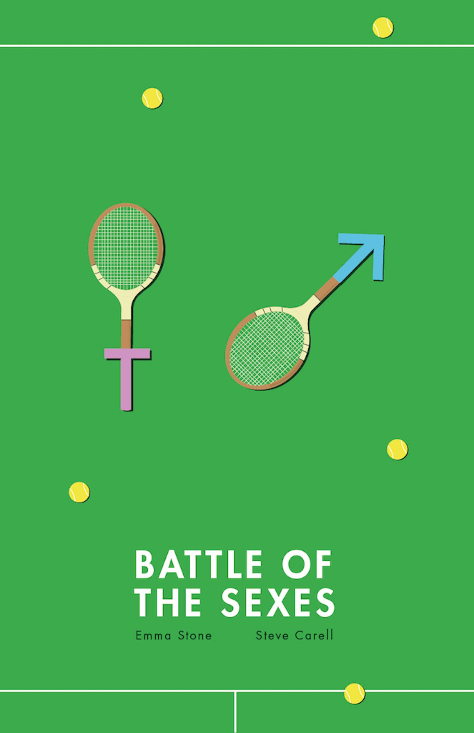 Fox Searchlight Print Ad - Battle of the Sexes