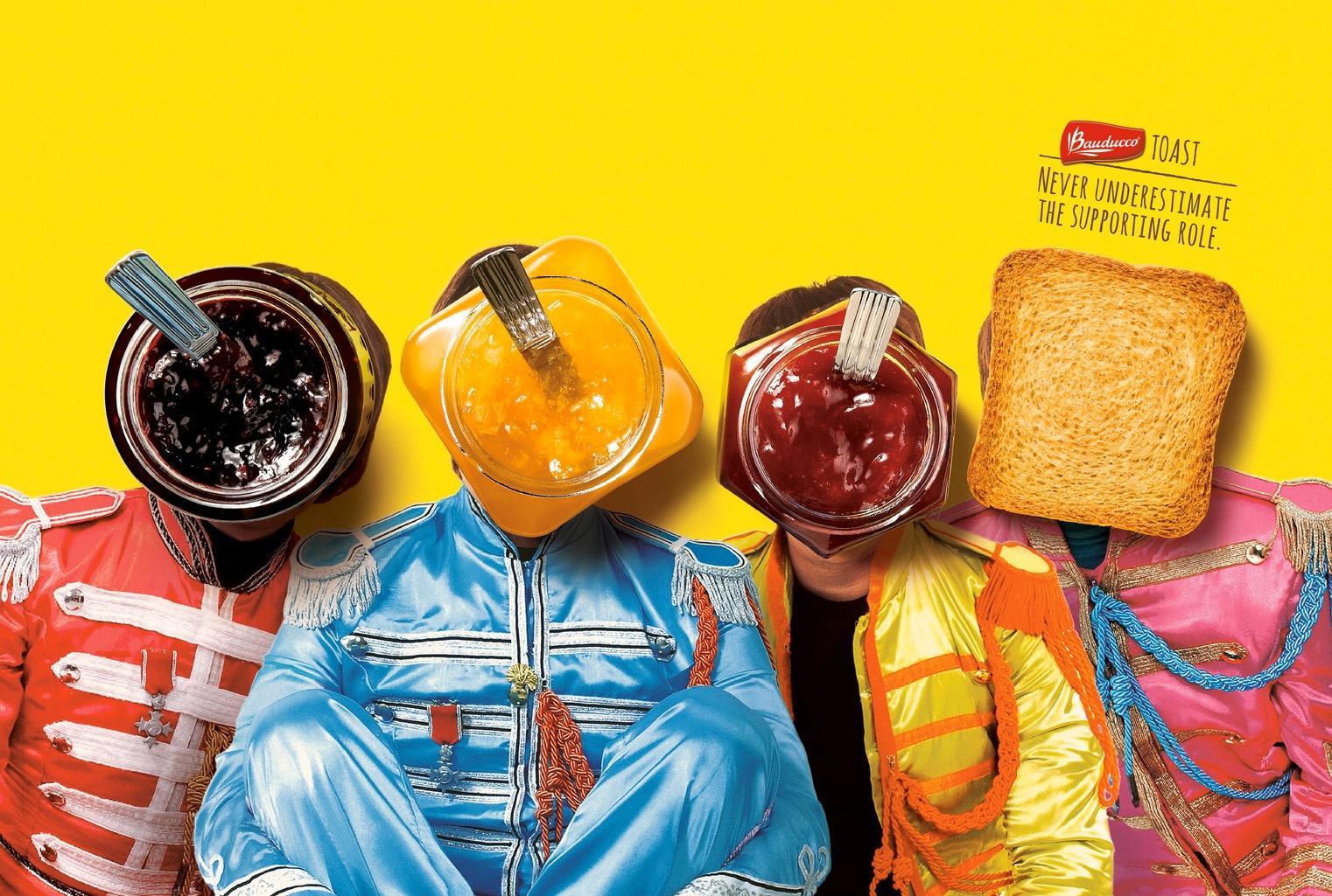 Bauducco Print Ad -  Band