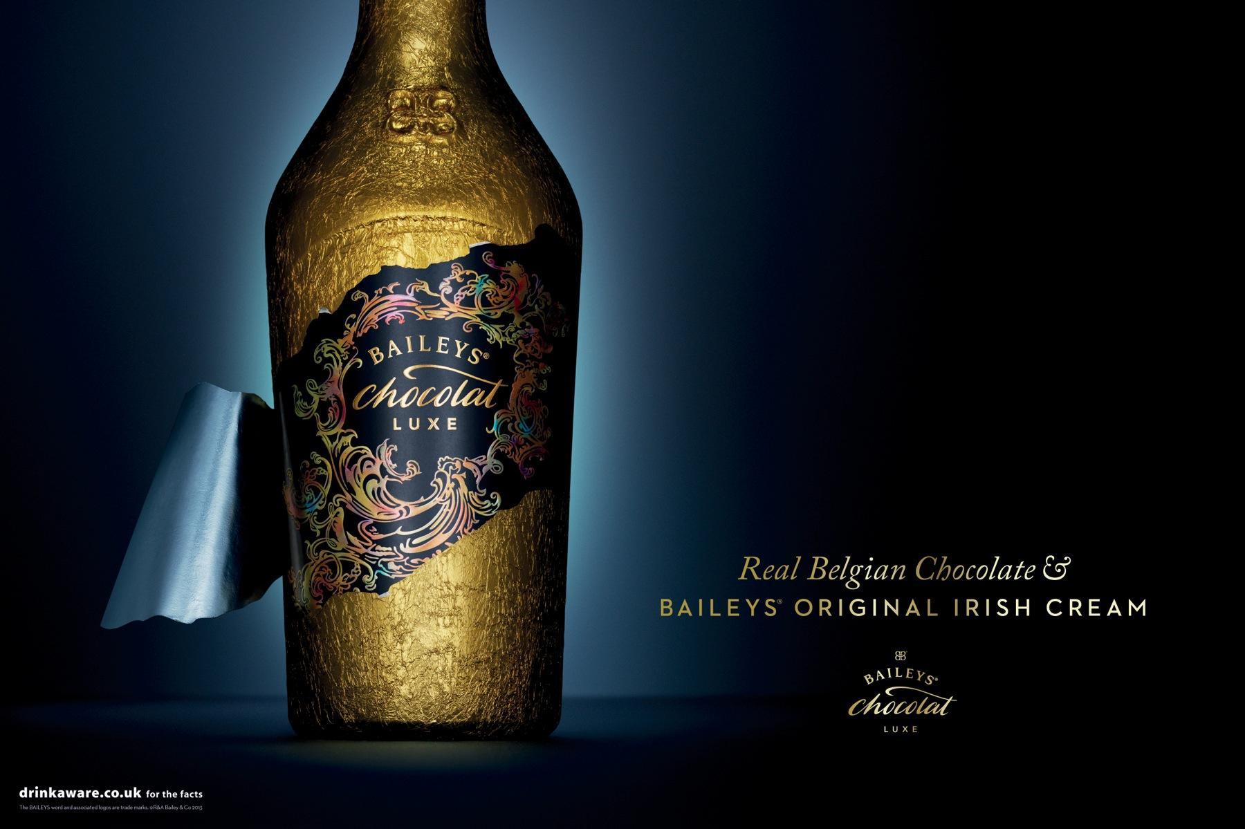 Baileys Print Ad -  Foil