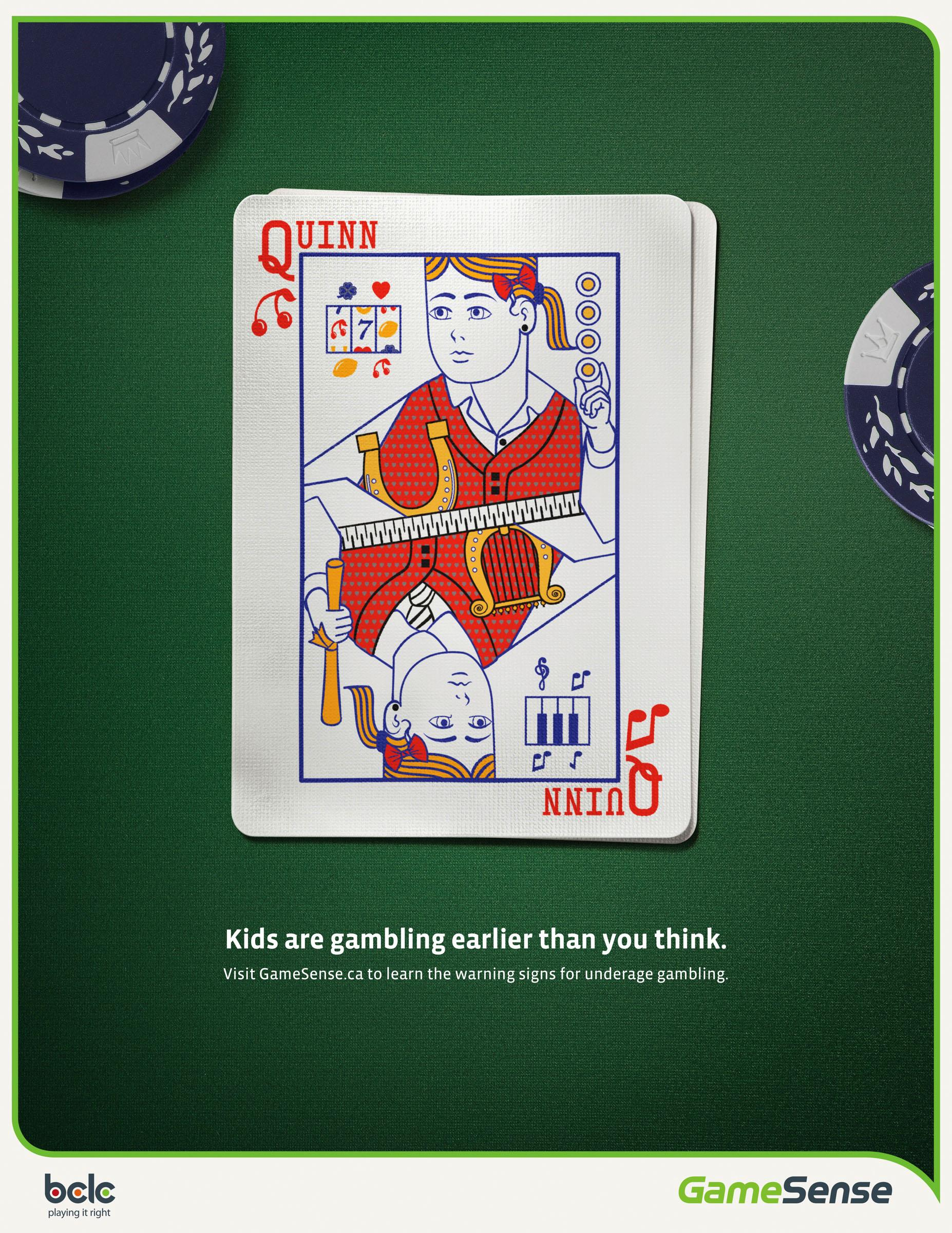 BC Lottery Corporation Outdoor Ad -  Quinn