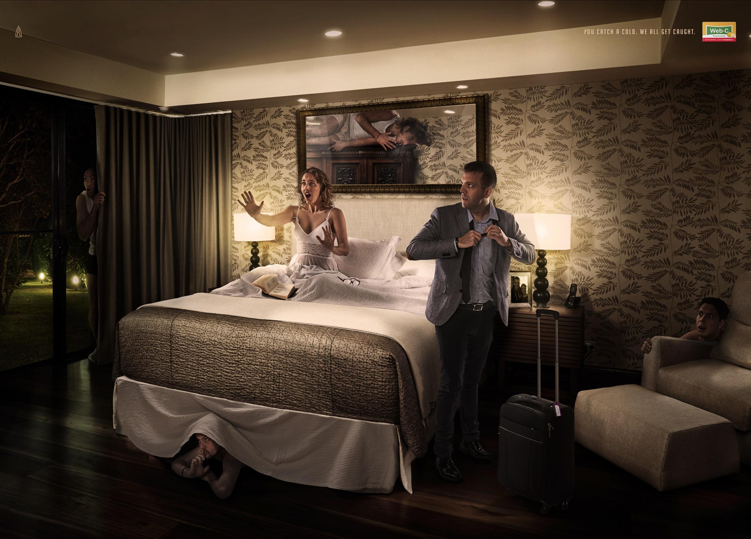 Web·C Print Ad - Bedroom