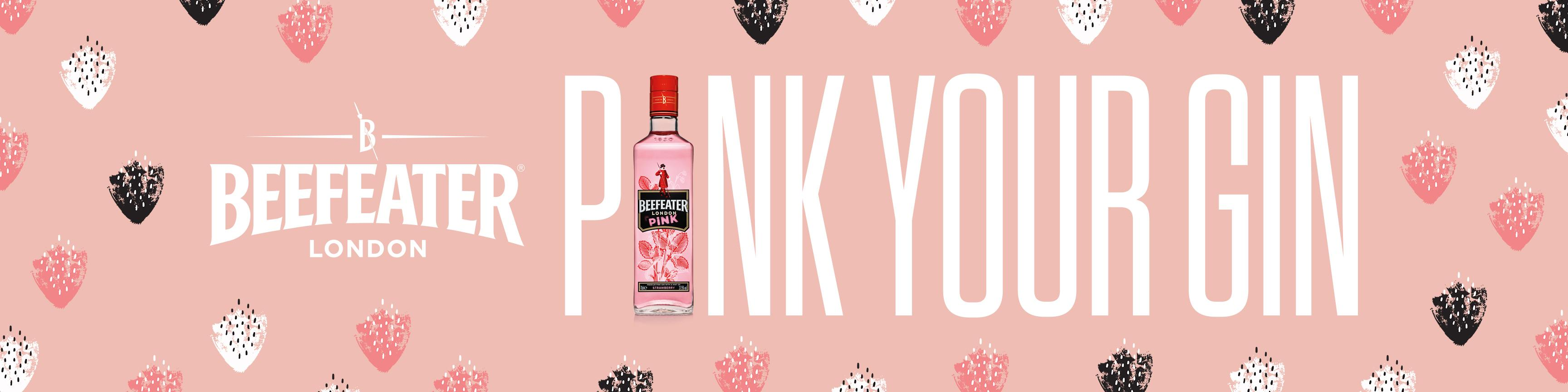 Beefeater Outdoor Ad - Pink
