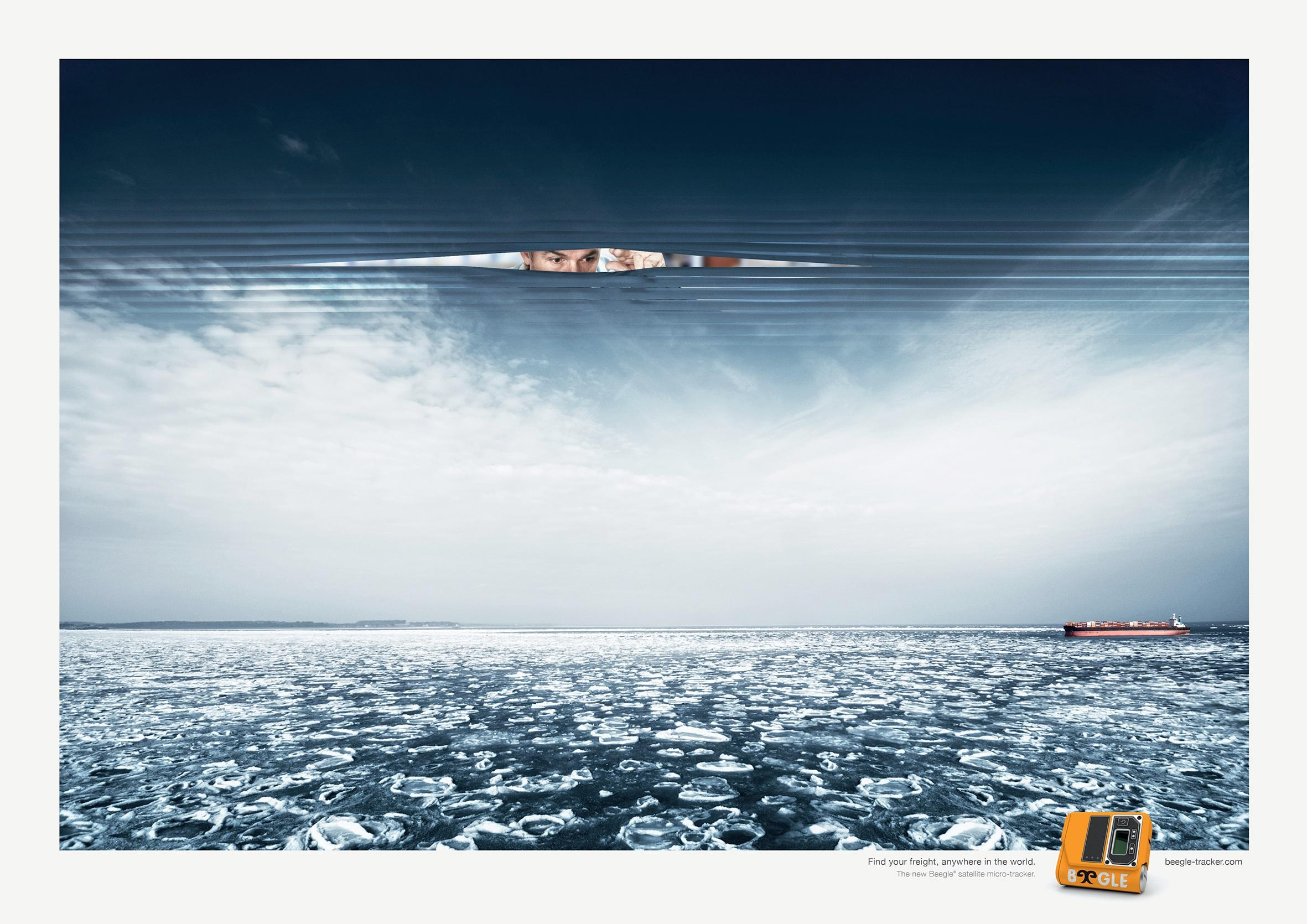 Beegle Print Ad -  Never out of sight, 1