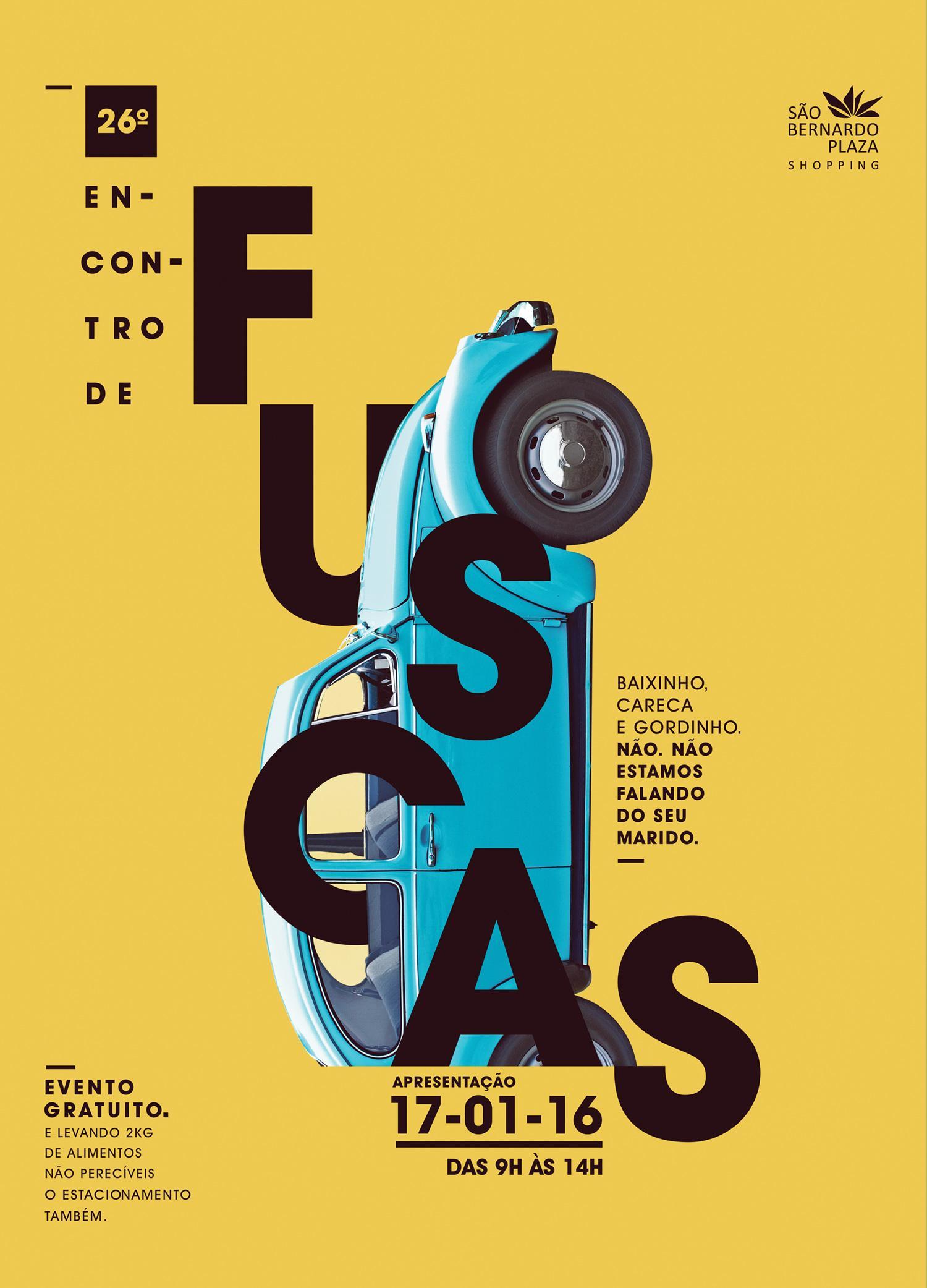 Sao Bernardo Plaza Print Ad - Beetle yellow