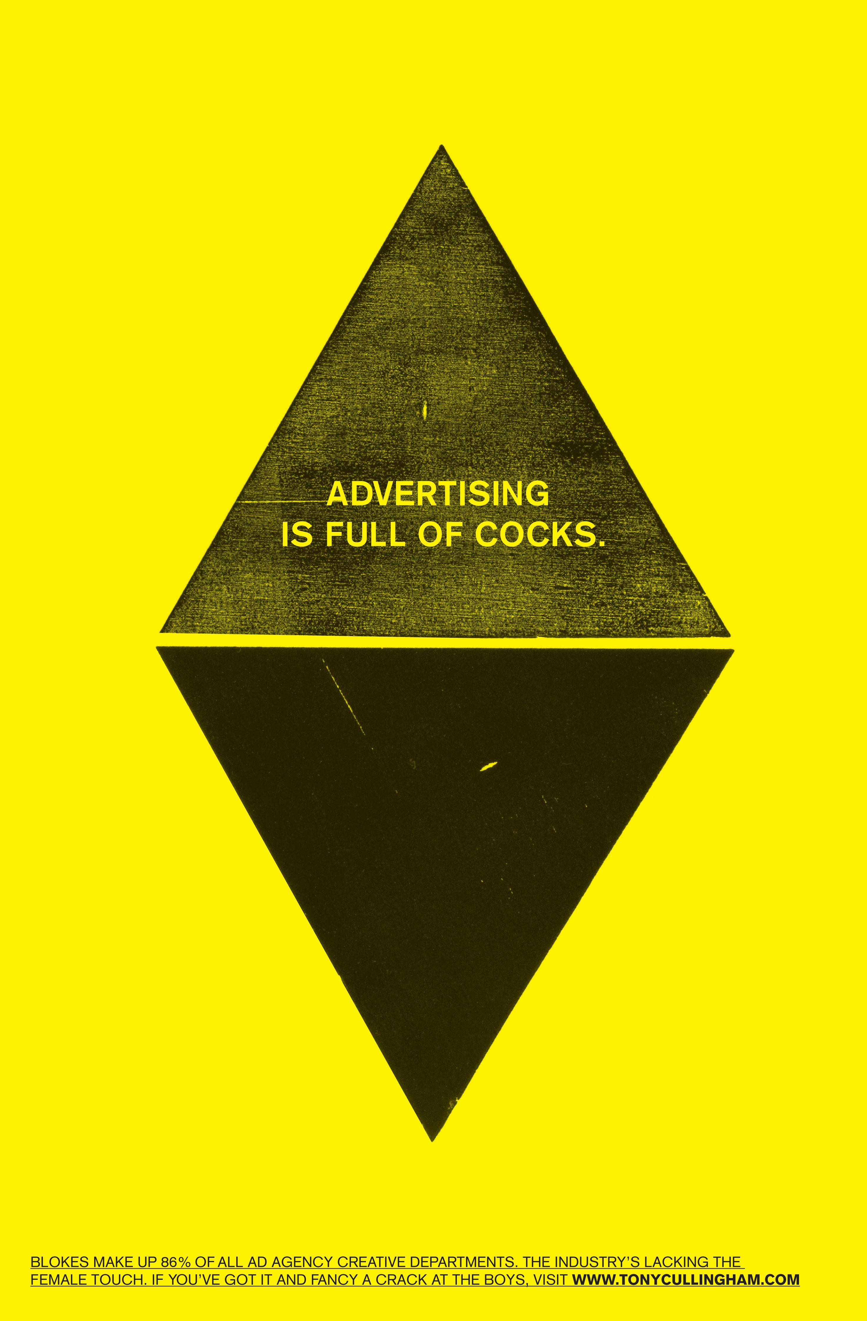 Watford College Print Ad - Cocks