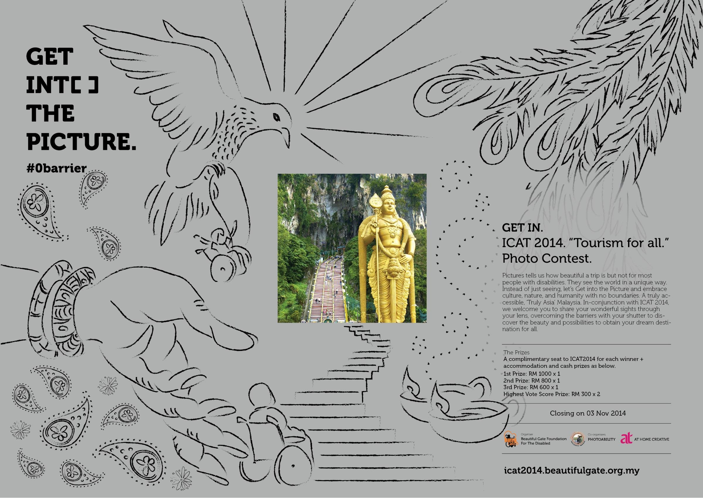 ICAT 2014 Print Ad -  Get into the picture, 1
