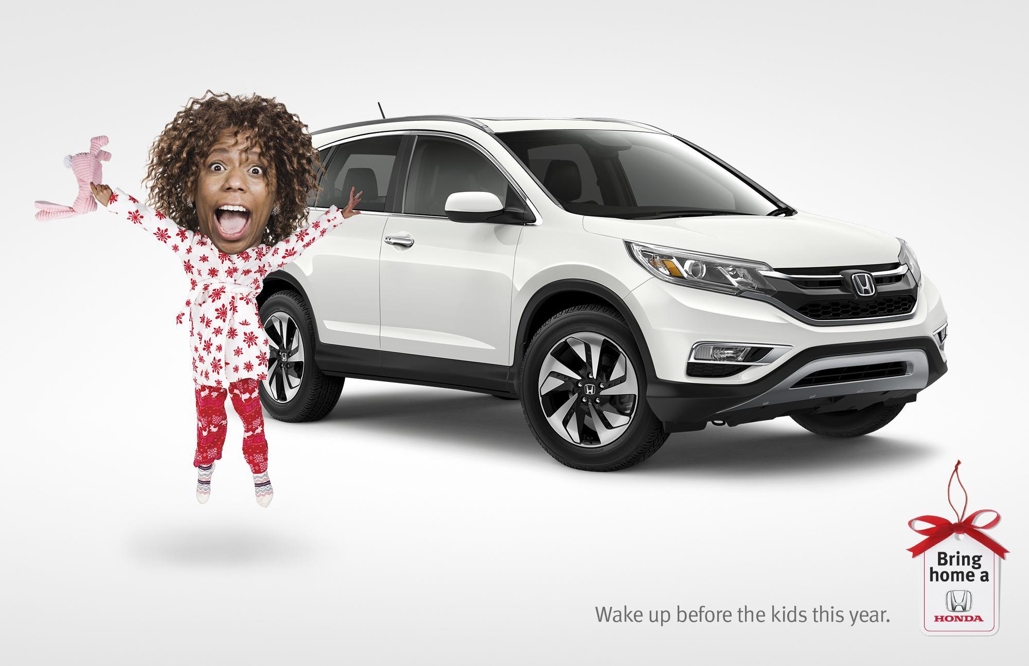 Honda Print Ad - Bring home a Honda - Wake up