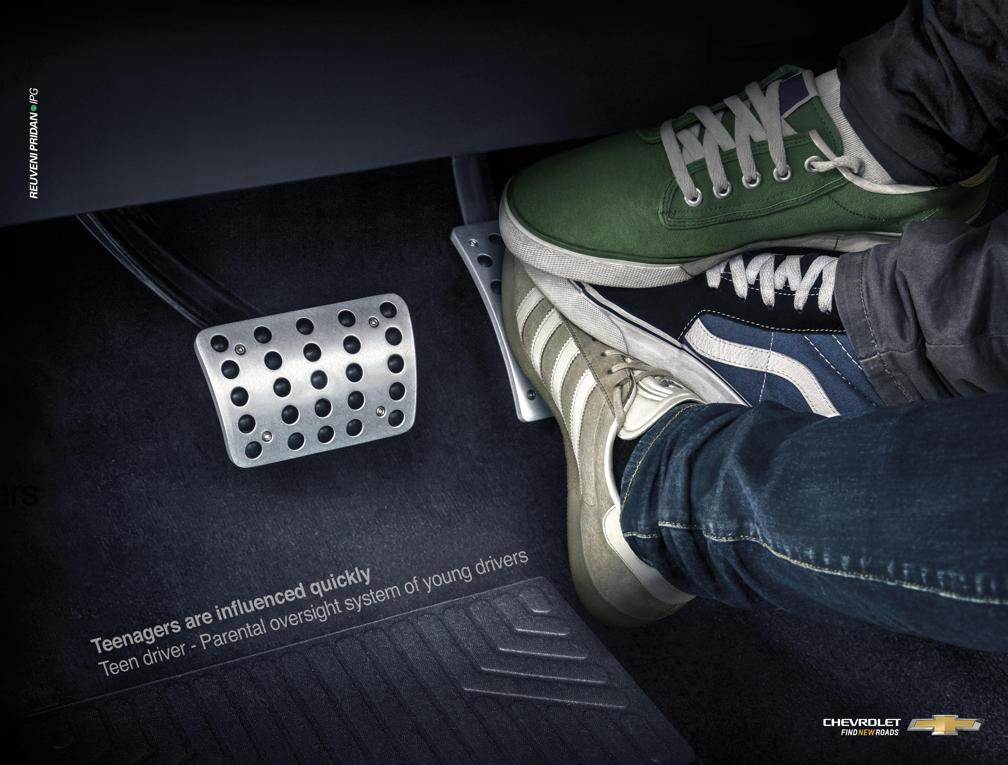 Chevrolet Print Ad - Accelerator