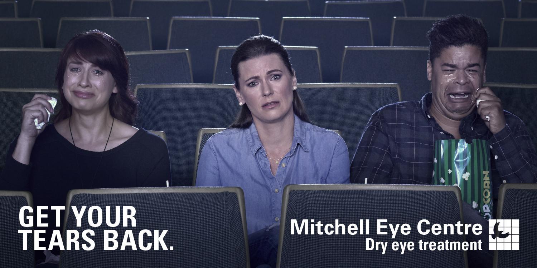 Mitchell Eye Centre Outdoor Ad - Movie