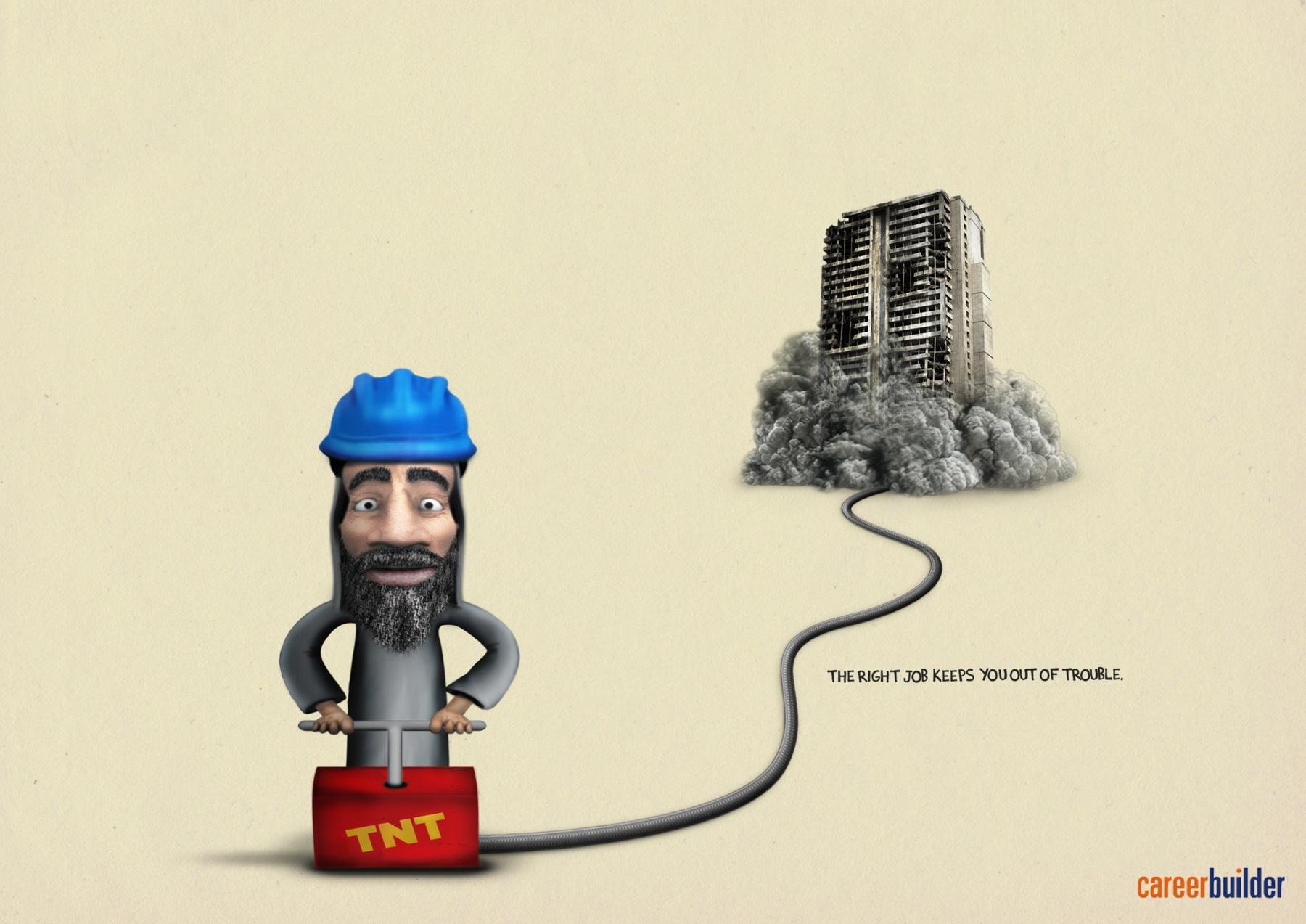 Career Builder Print Ad -  Osama