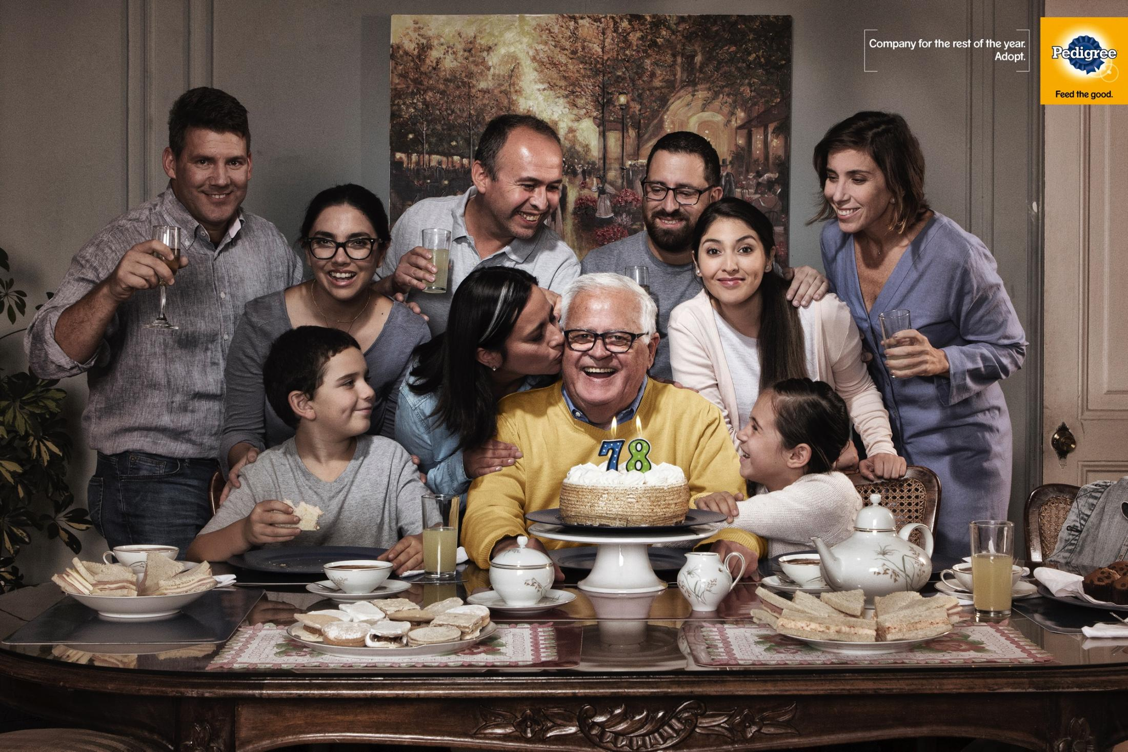 Pedigree Print Ad - Birthday