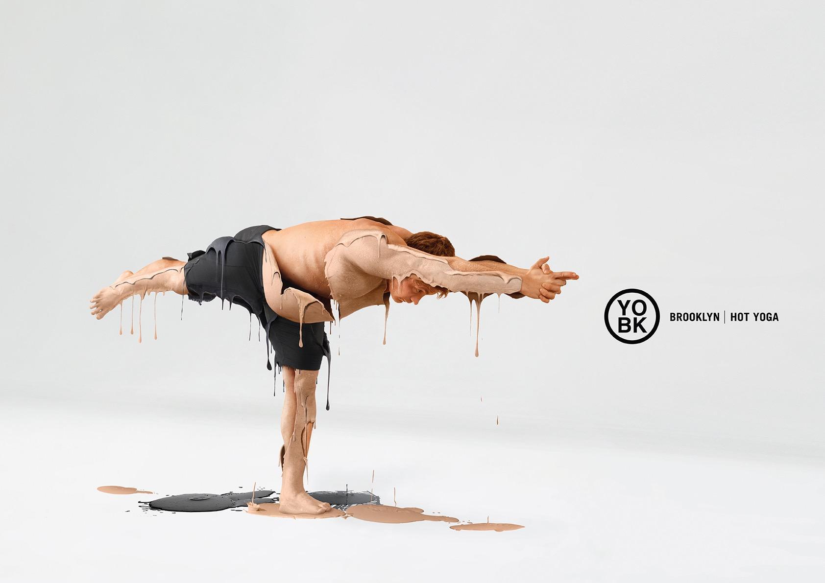YO BK Yoga Studio Print Ad - Hot yoga, 3
